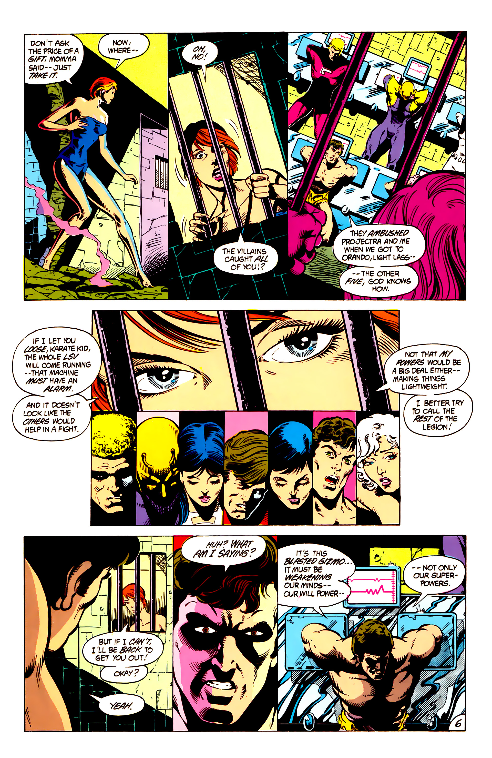 Legion of Super-Heroes (1984) 4 Page 7