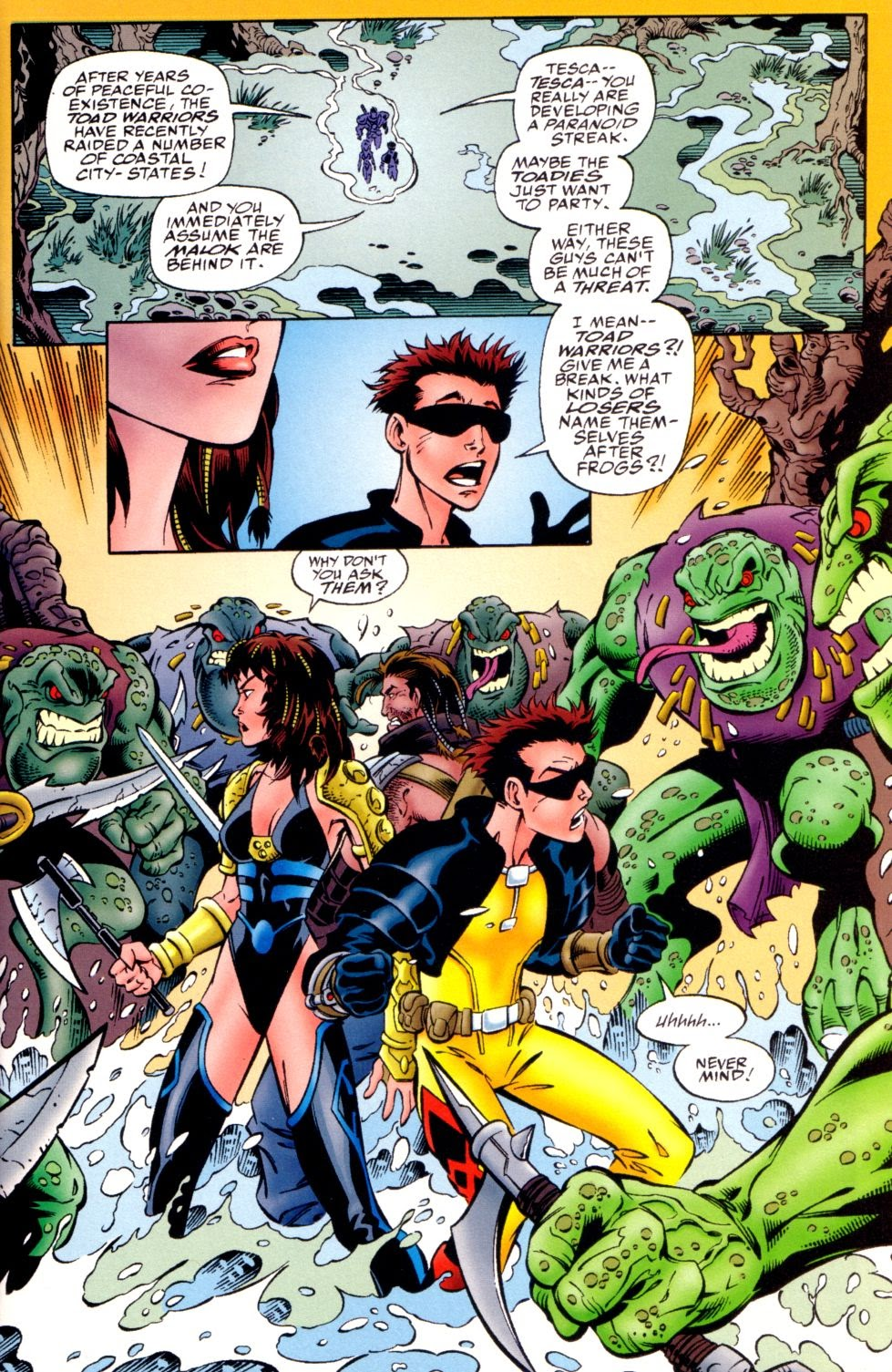 Read online Randy O'Donnell is The M@N comic -  Issue #3 - 7