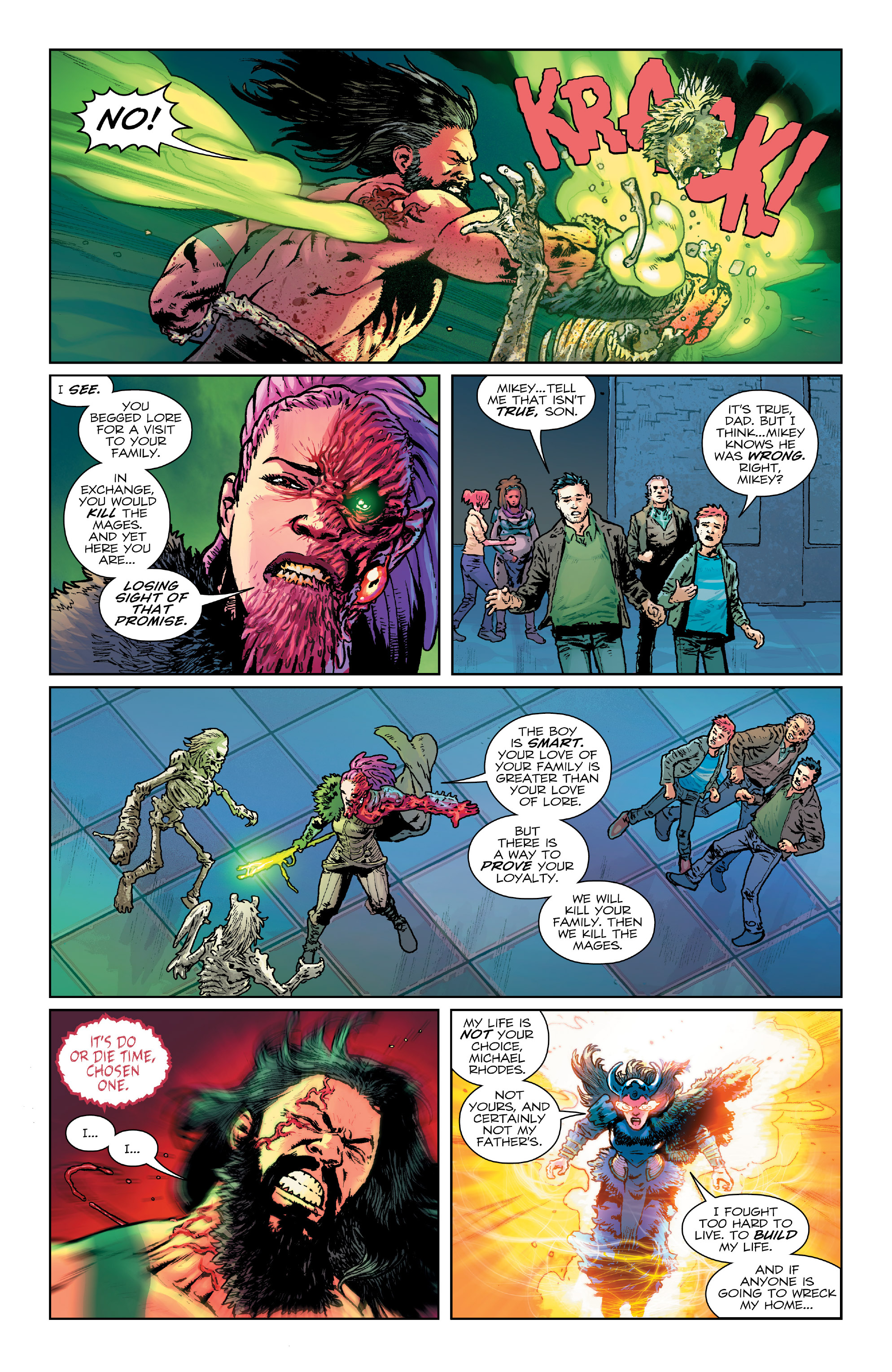 Read online Birthright (2014) comic -  Issue #25 - 5