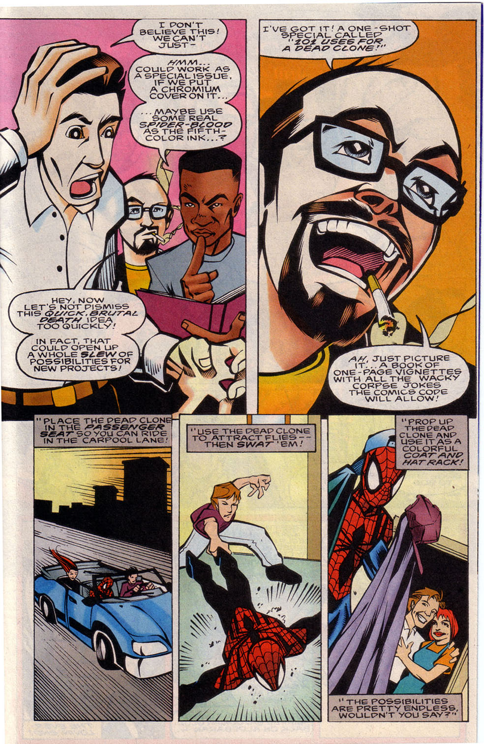 Read online 101 Ways to End the Clone Saga comic -  Issue #101 Ways to End the Clone Saga Full - 33