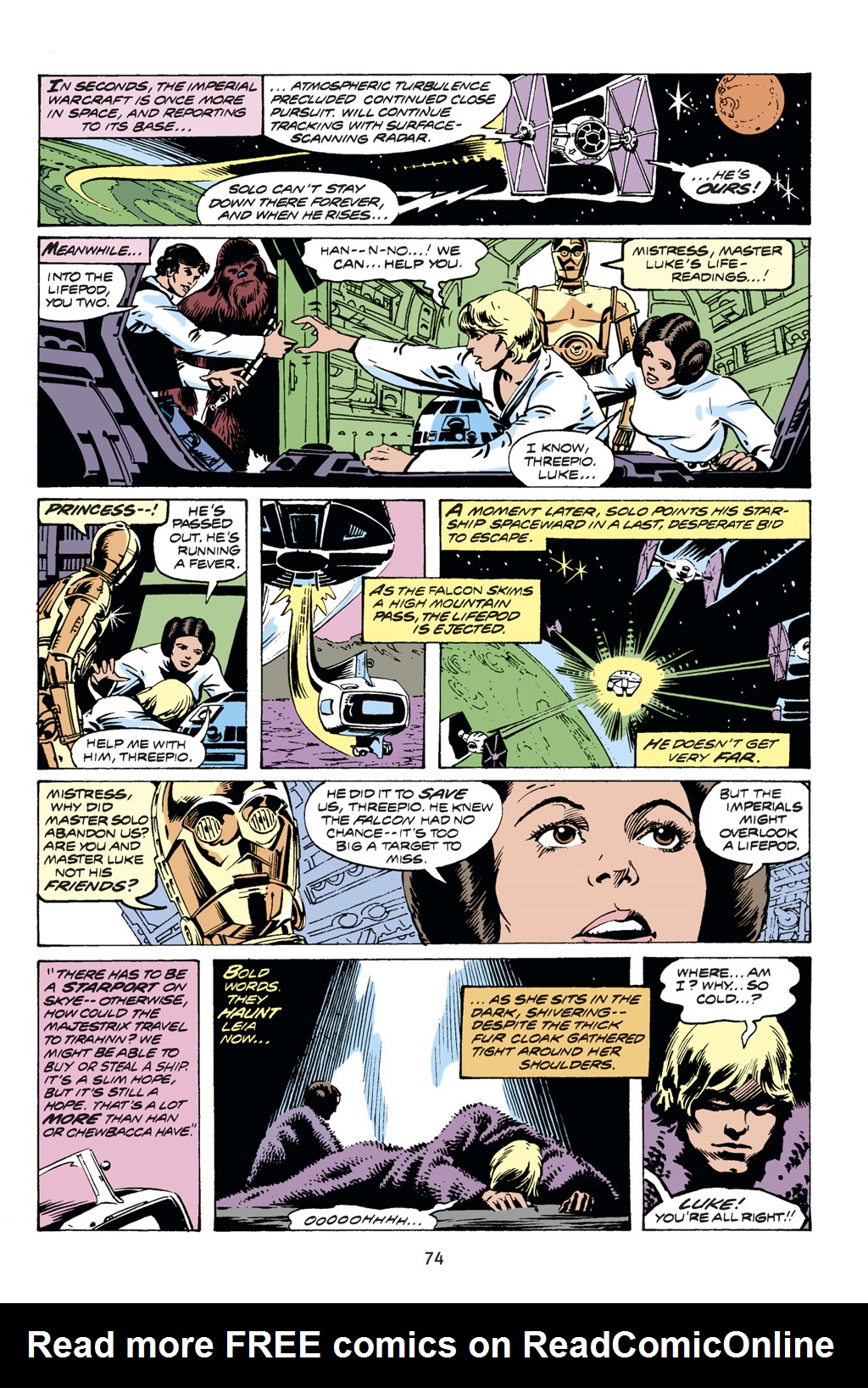 Read online Star Wars Omnibus comic -  Issue # Vol. 14 - 74