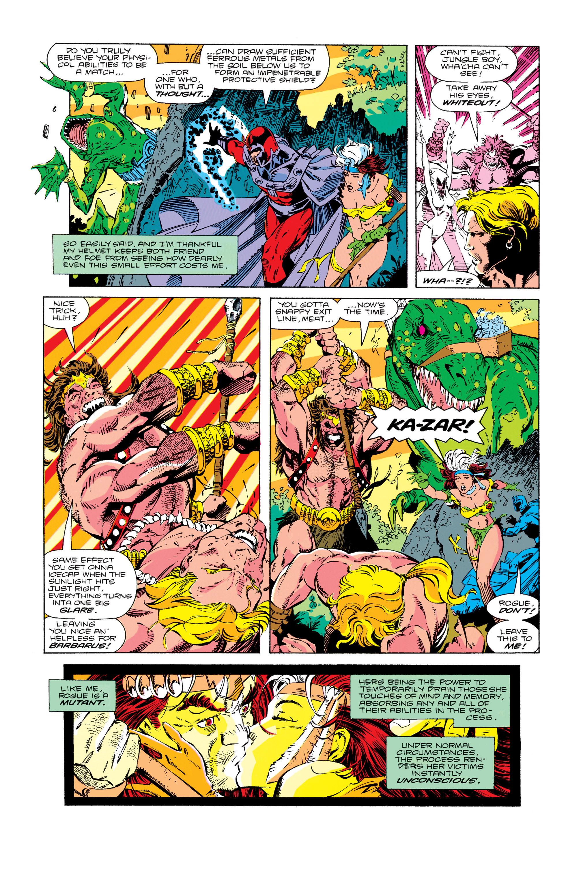 Read online Uncanny X-Men (1963) comic -  Issue #274 - 5