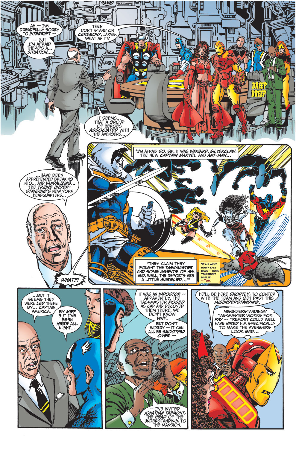 Read online Avengers (1998) comic -  Issue #27 - 7