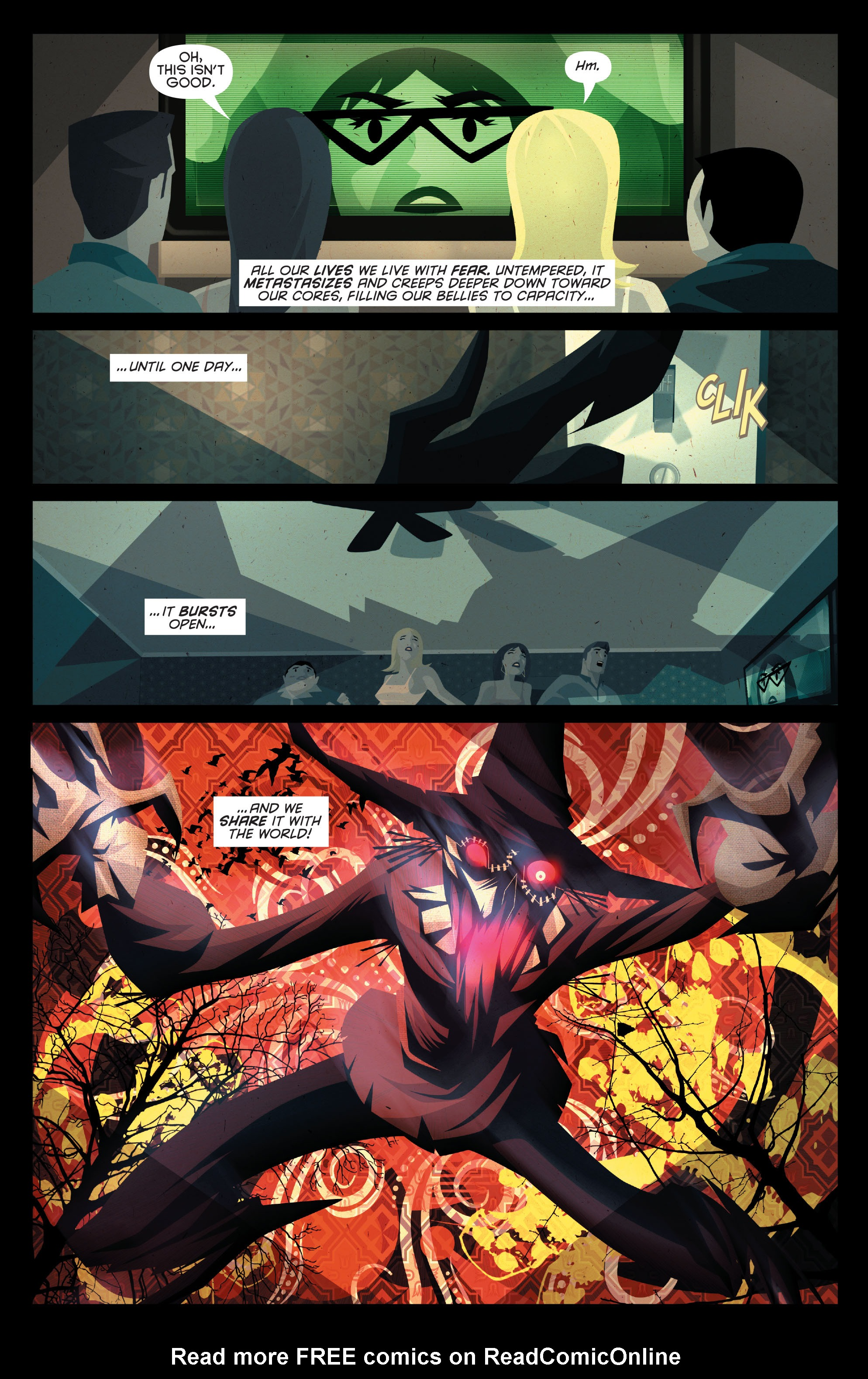 Read online Joker's Asylum: Scarecrow comic -  Issue # Full - 14