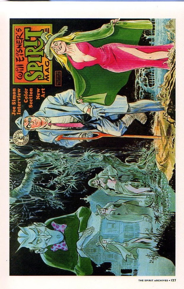 Read online Will Eisner's The Spirit Archives comic -  Issue # TPB 26 (Part 2) - 34