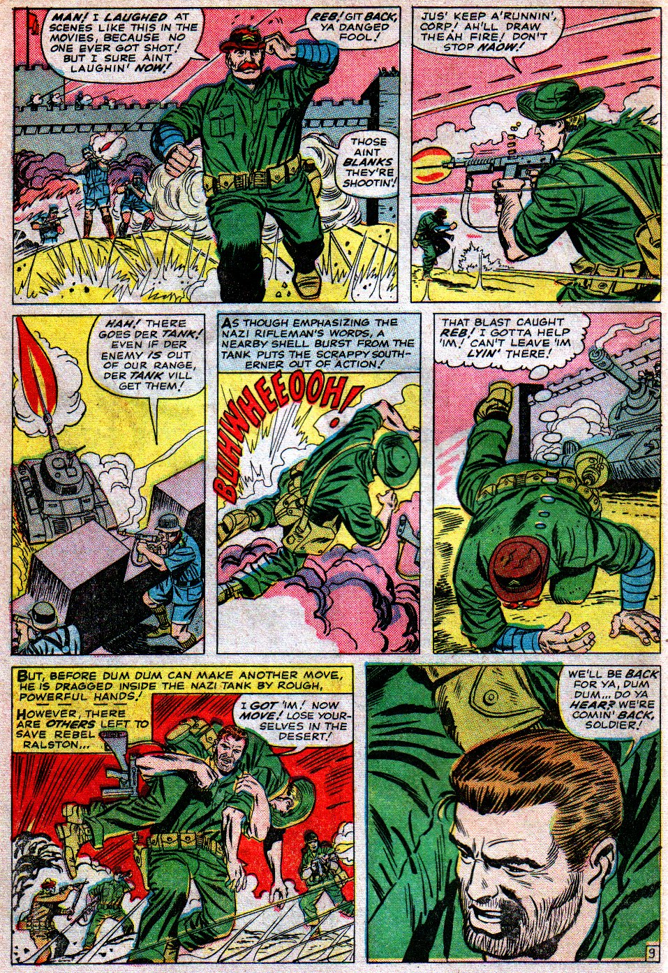 Read online Sgt. Fury comic -  Issue #16 - 14