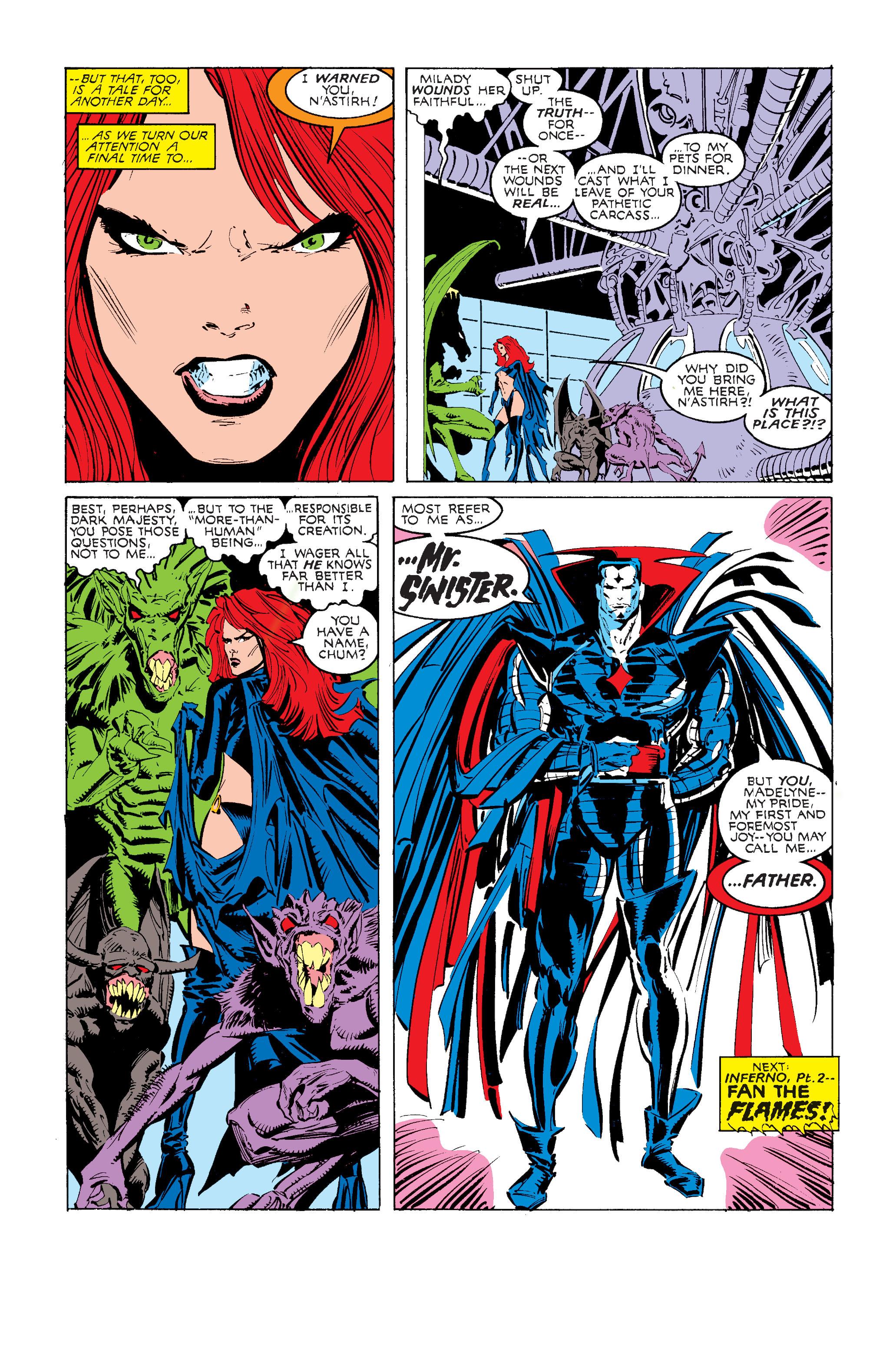 Read online Uncanny X-Men (1963) comic -  Issue #240 - 23