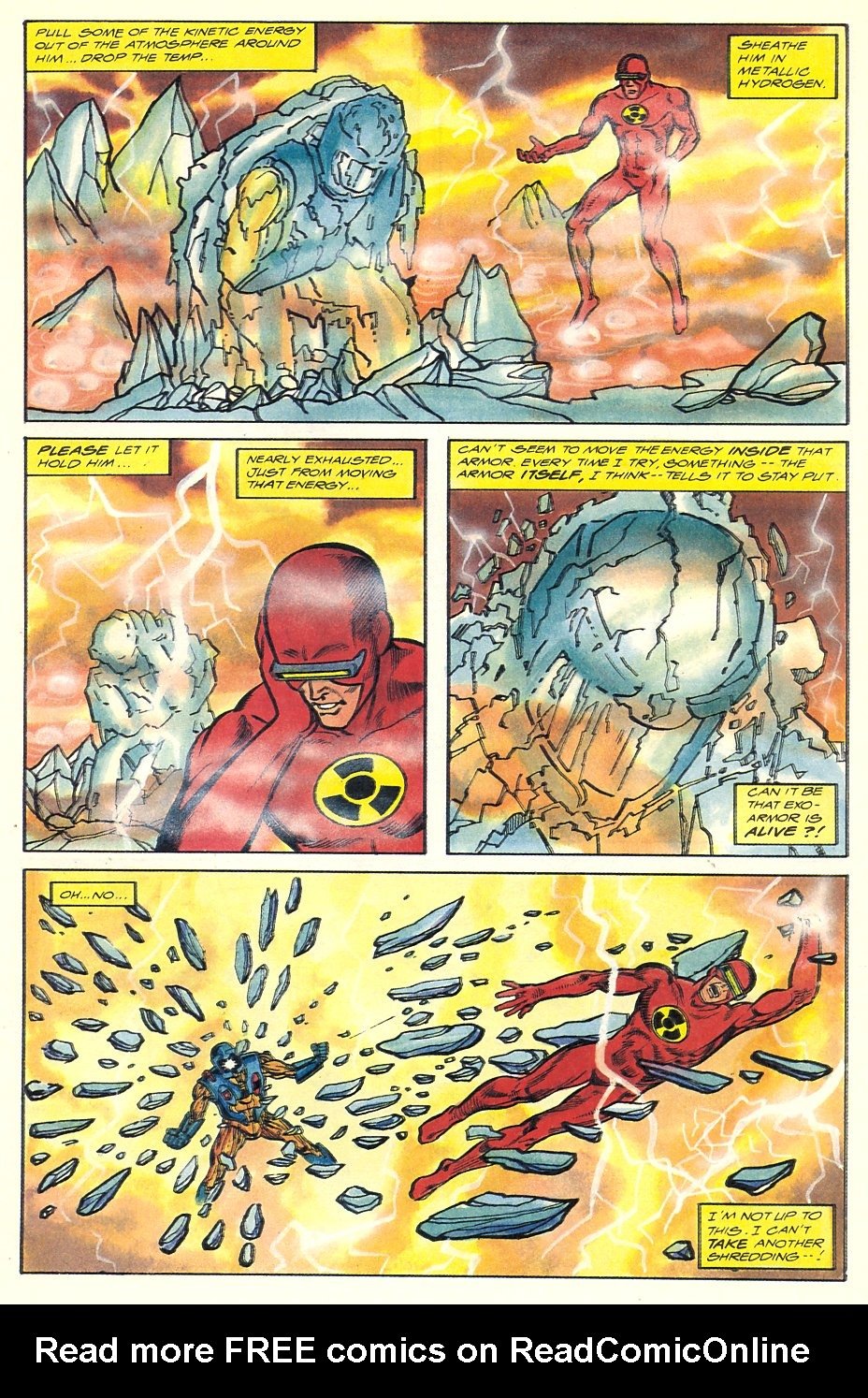 Read online Solar, Man of the Atom comic -  Issue #7 - 30