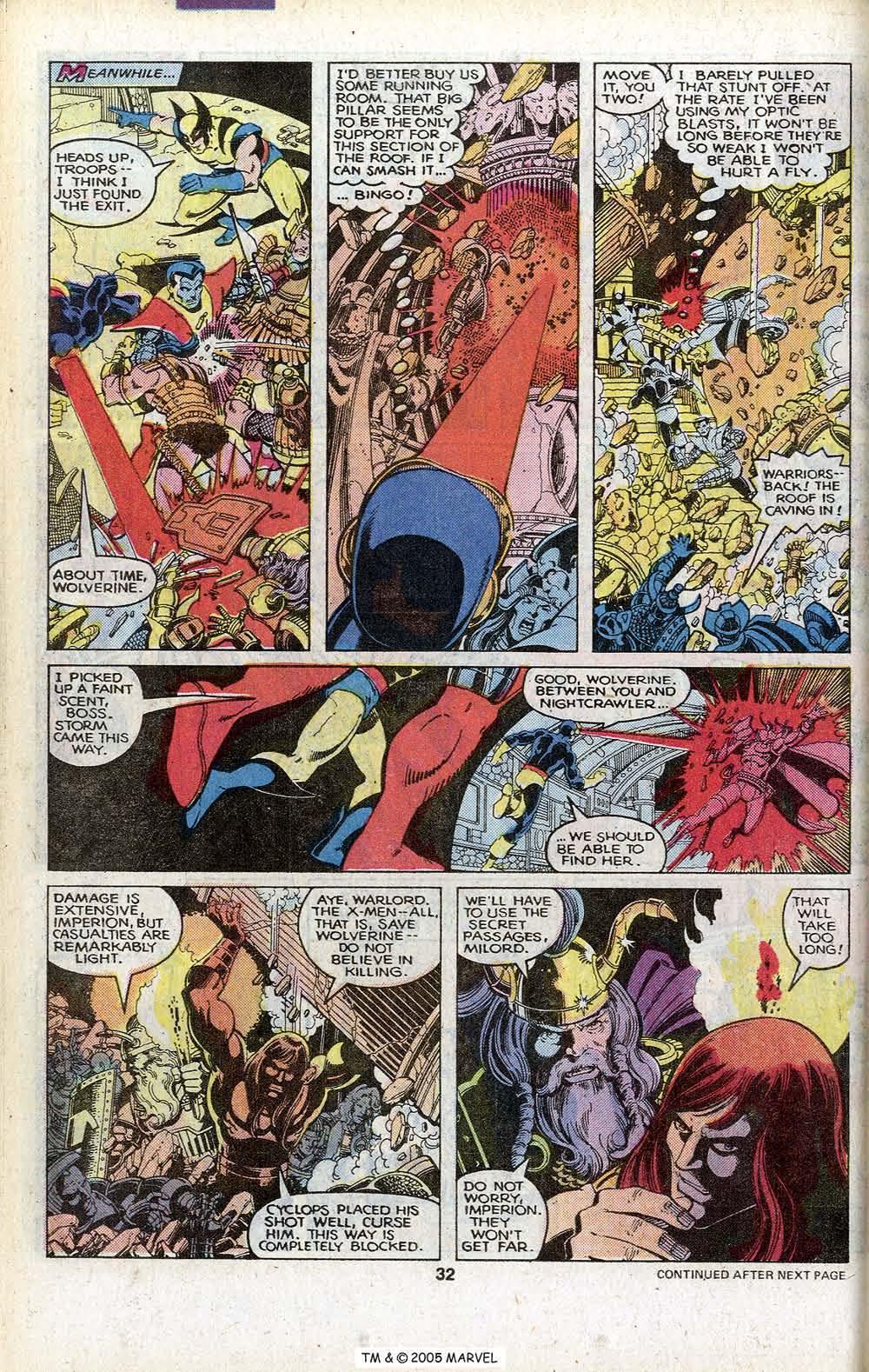 Read online Uncanny X-Men (1963) comic -  Issue # _Annual 3 - 34