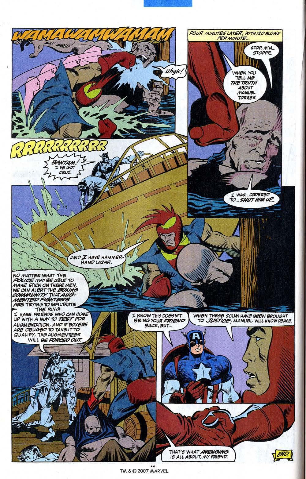 Read online Captain America (1968) comic -  Issue # _Annual 12 - 46
