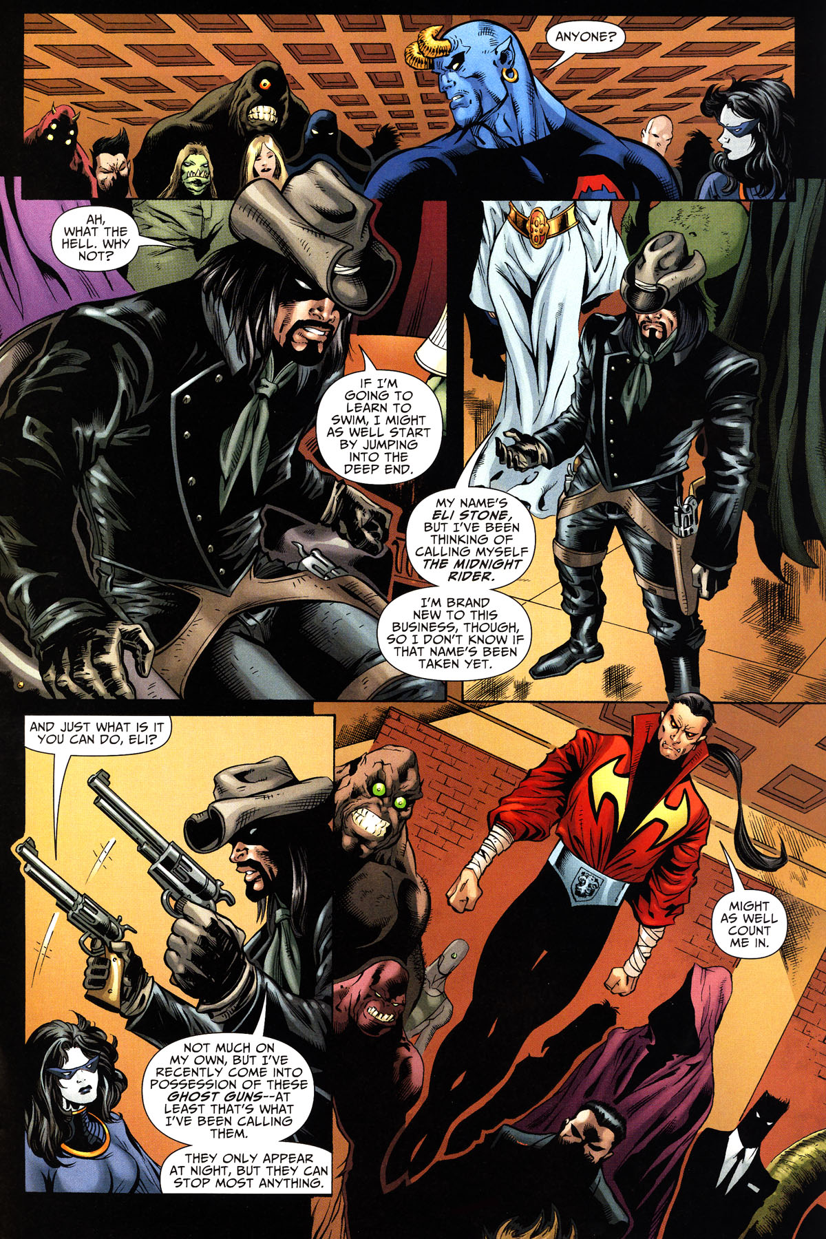 Read online Shadowpact comic -  Issue #10 - 22