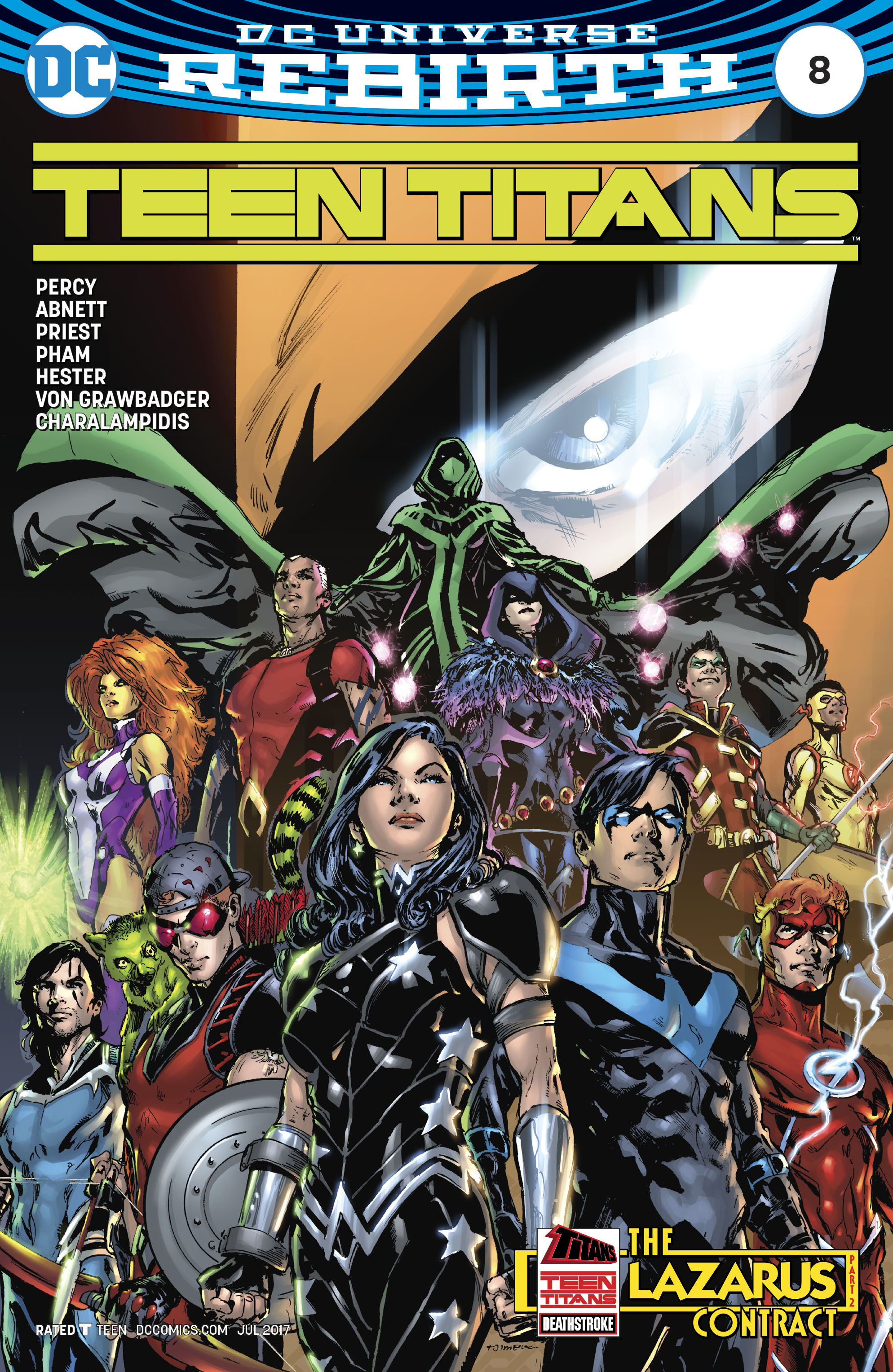 Read online Teen Titans (2016) comic -  Issue #8 - 2