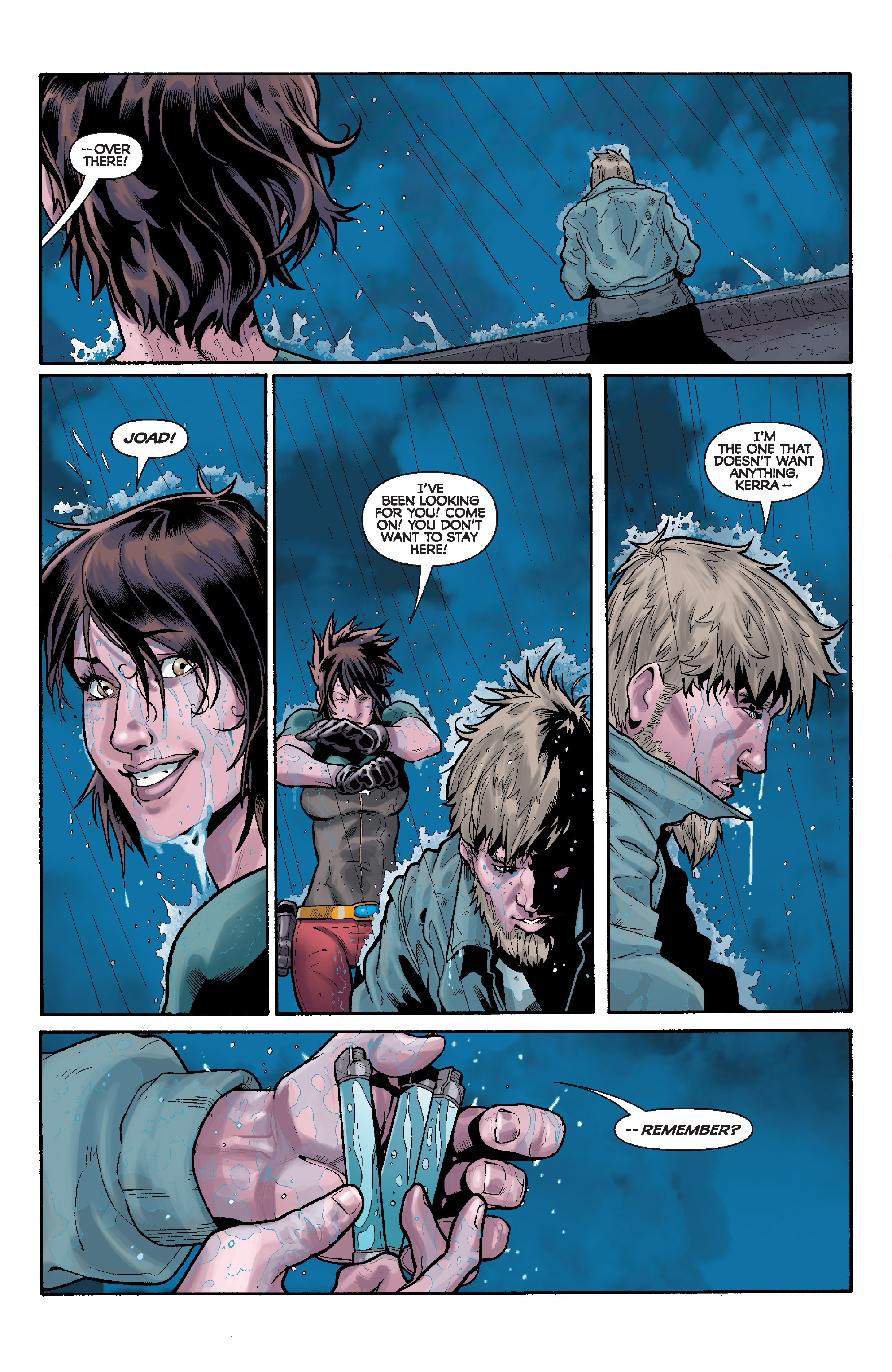 Read online Star Wars: Knight Errant - Deluge comic -  Issue #4 - 7