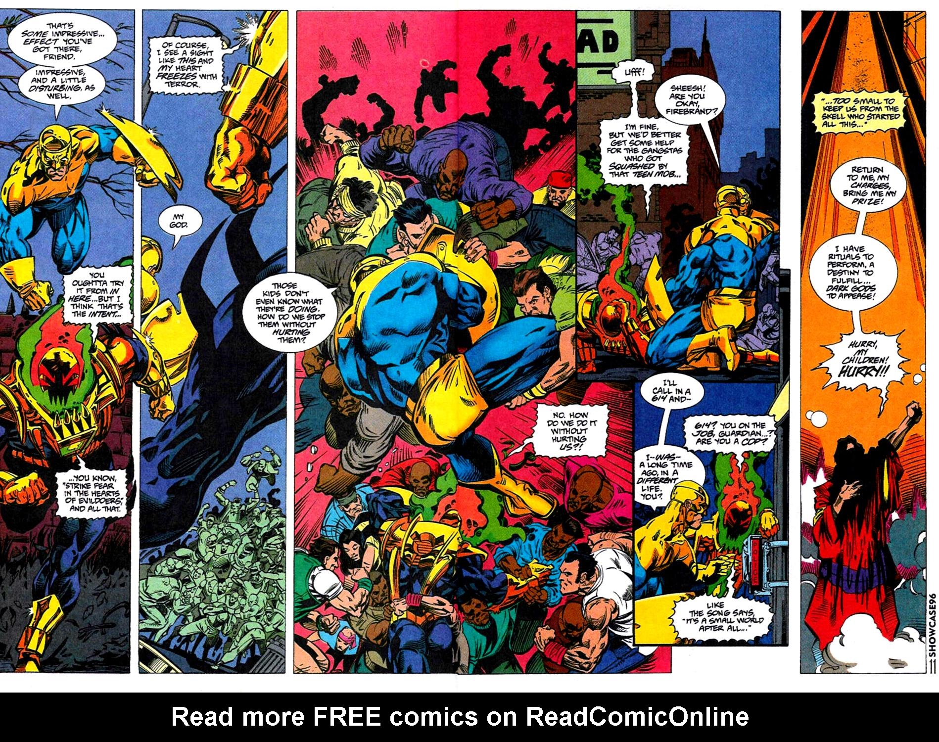 Read online Showcase '96 comic -  Issue #4 - 10