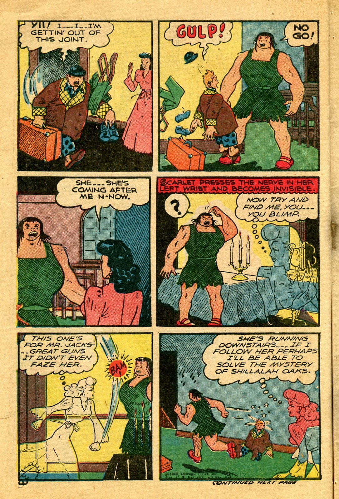 Read online Famous Funnies comic -  Issue #122 - 14