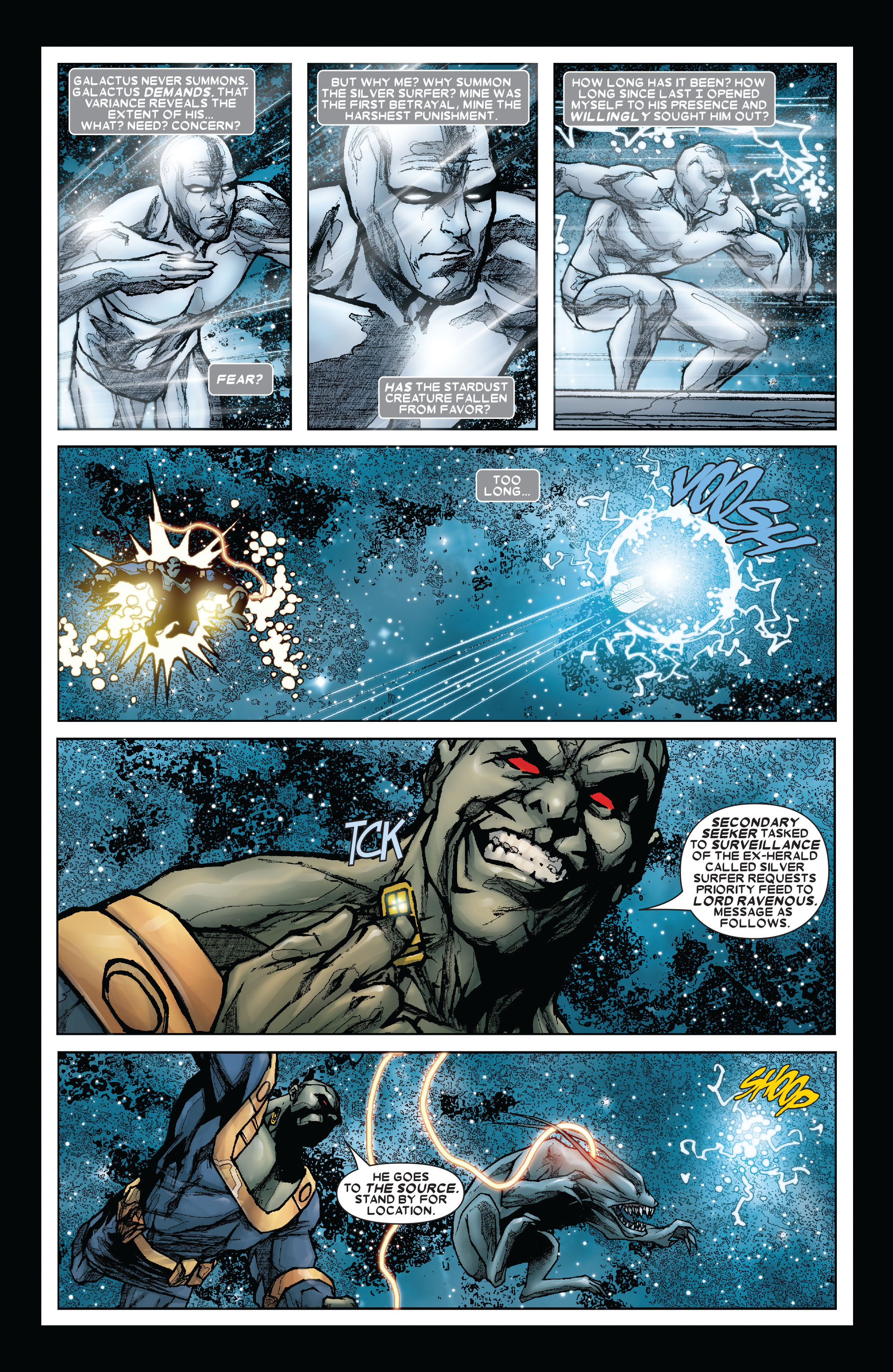 Read online Annihilation: Silver Surfer comic -  Issue #3 - 10