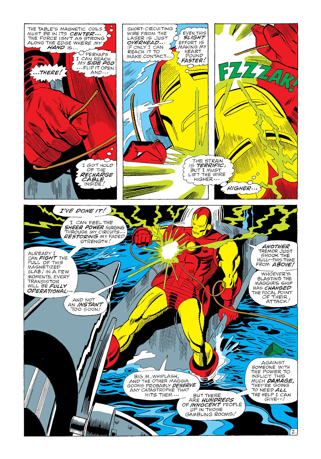 Read online Marvel Masterworks: The Invincible Iron Man comic -  Issue # TPB 4 (Part 3) - 14
