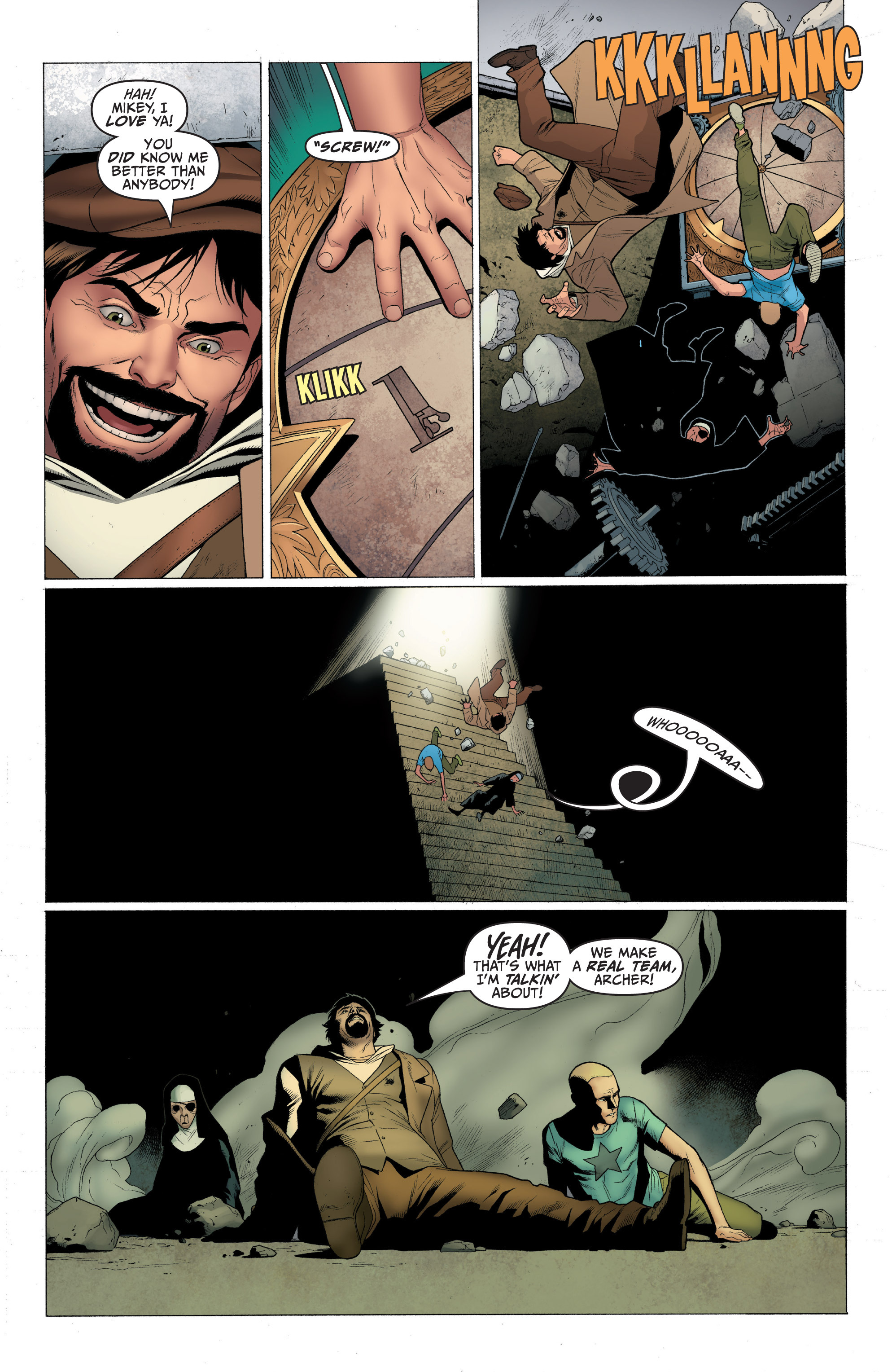 Read online Archer and Armstrong comic -  Issue #Archer and Armstrong _TPB 1 - 50