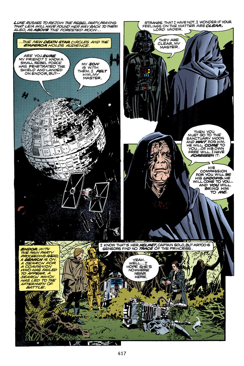 Read online Star Wars Omnibus comic -  Issue # Vol. 18.5 - 134