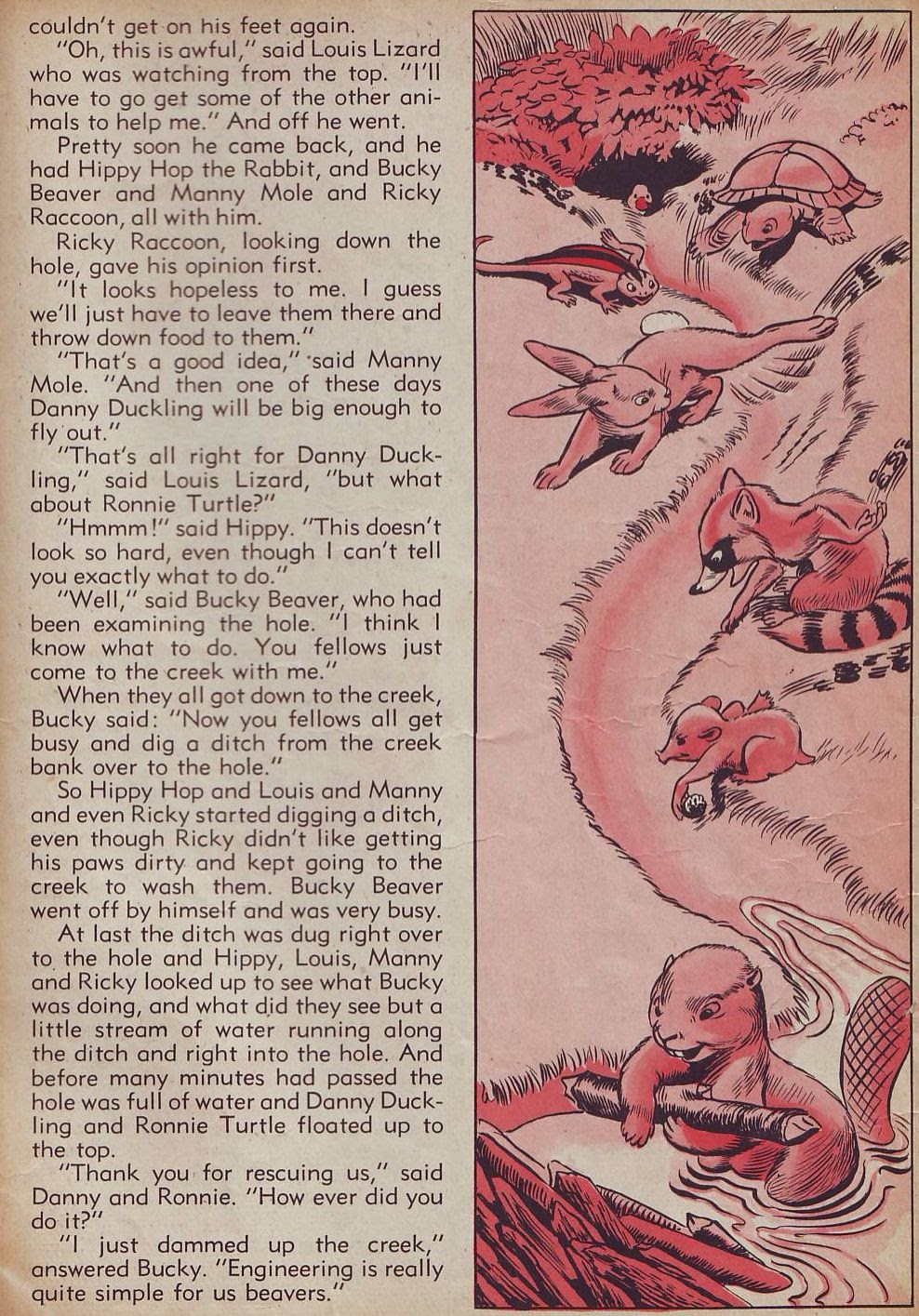 Read online Animal Comics comic -  Issue #21 - 51