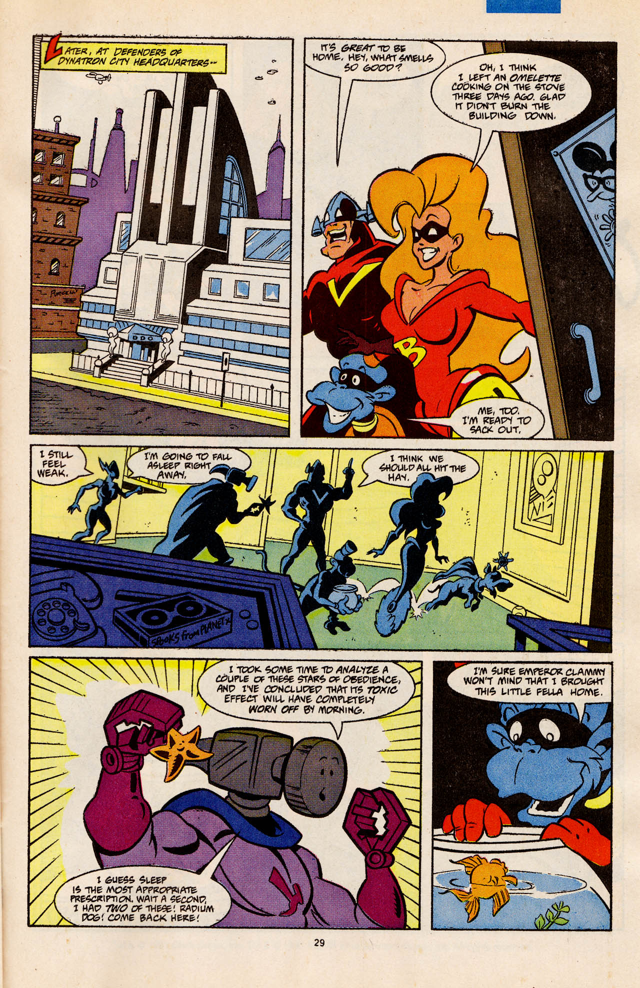 Read online Defenders of Dynatron City comic -  Issue #4 - 30