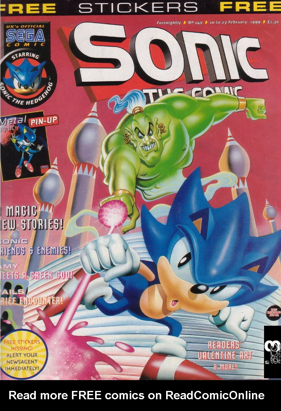 Read online Sonic the Comic comic -  Issue #149 - 1