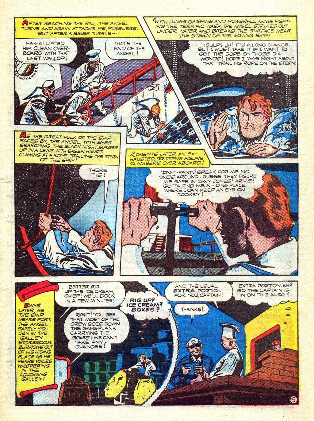 Read online Mystic Comics (1944) comic -  Issue #3 - 7