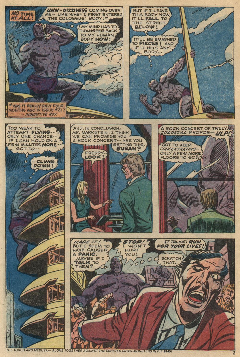 Read online Astonishing Tales (1970) comic -  Issue #23 - 3