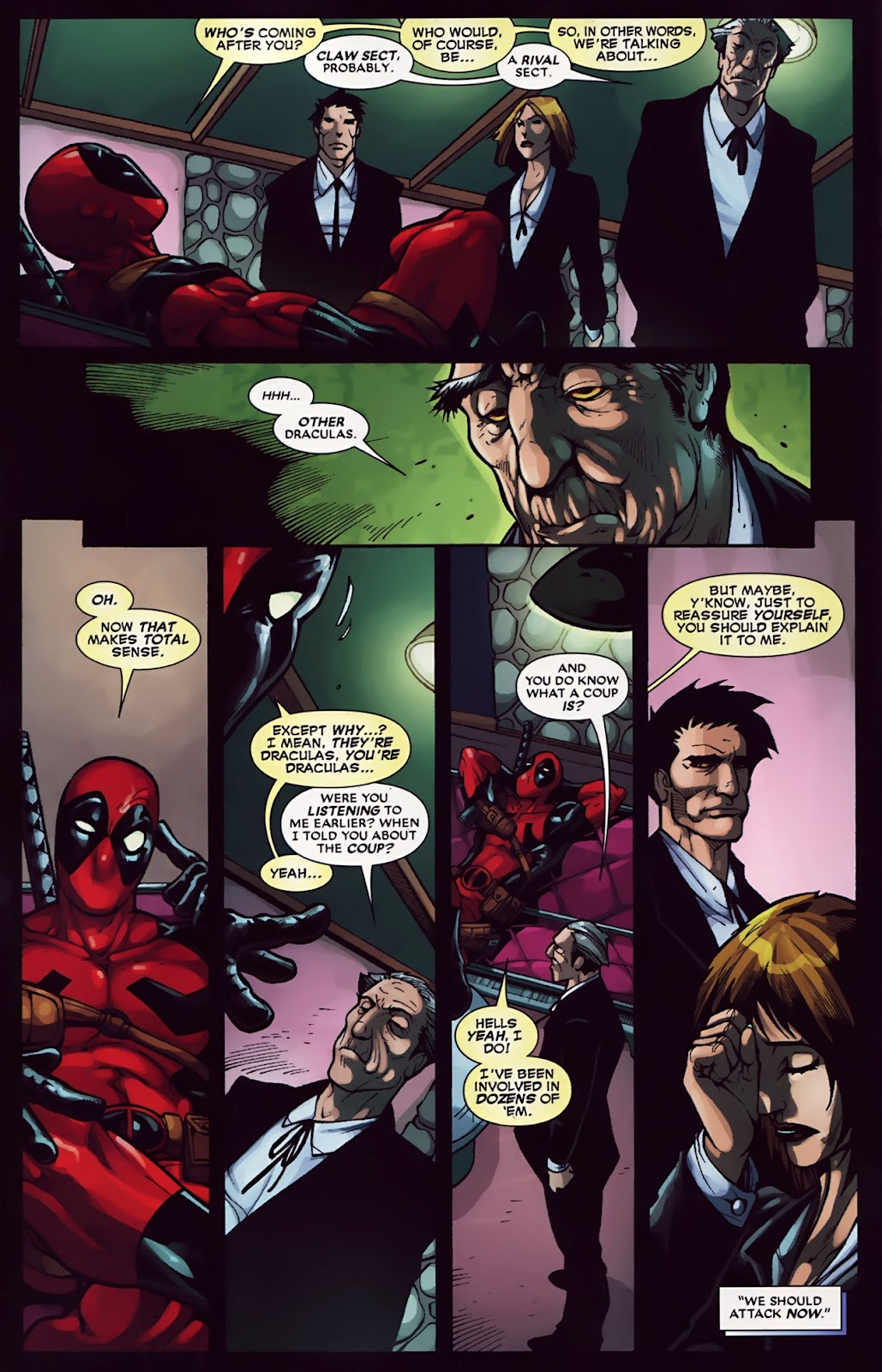 Read online Deadpool (2008) comic -  Issue #30 - 9