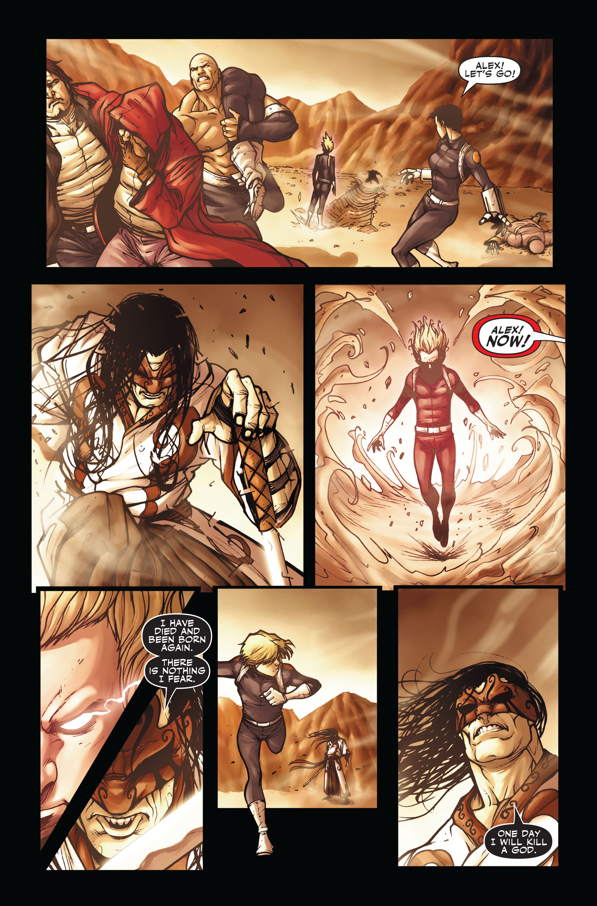 Read online Secret Warriors comic -  Issue #3 - 19