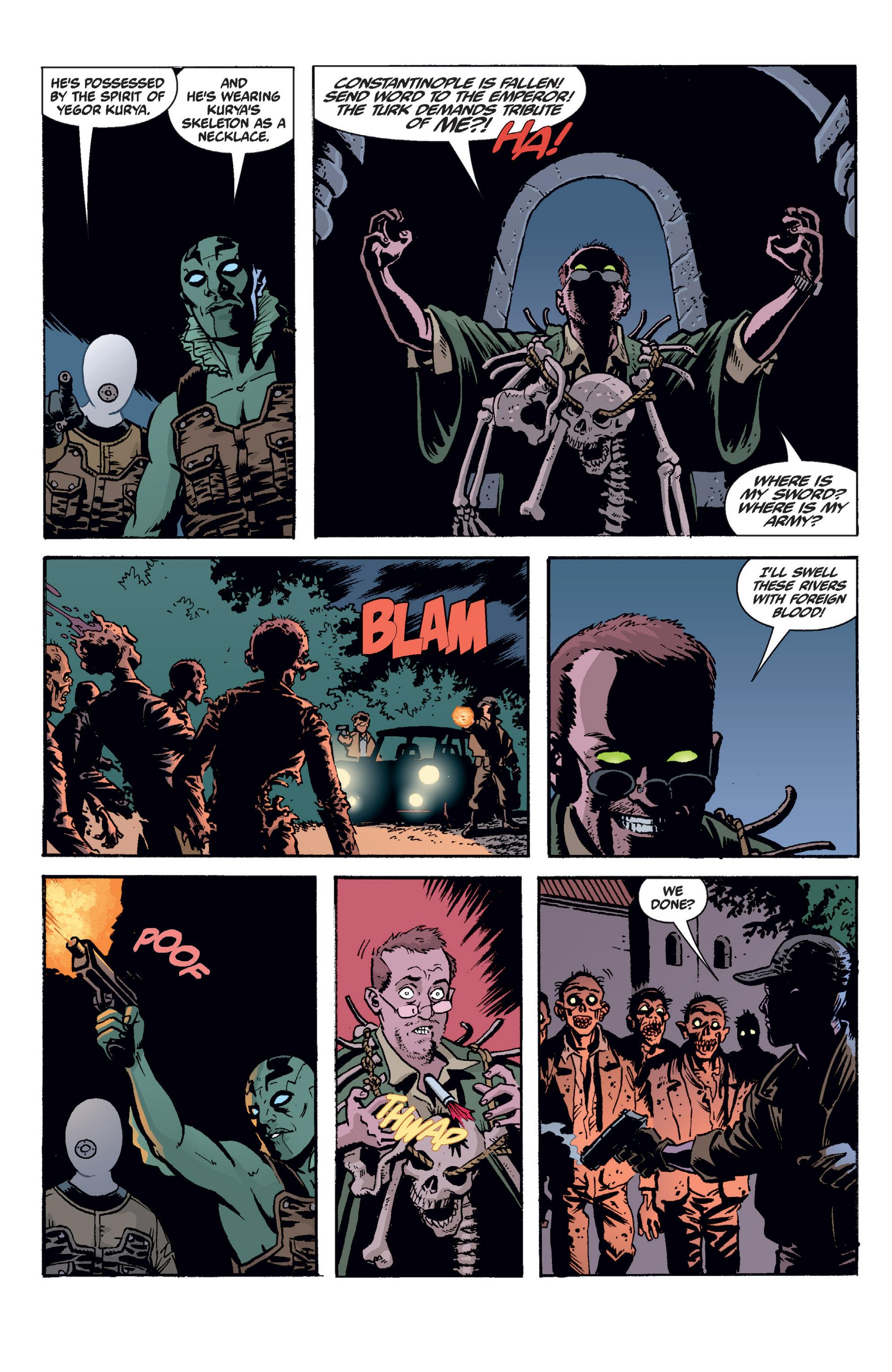 Read online B.P.R.D. (2003) comic -  Issue # TPB 2 - 113