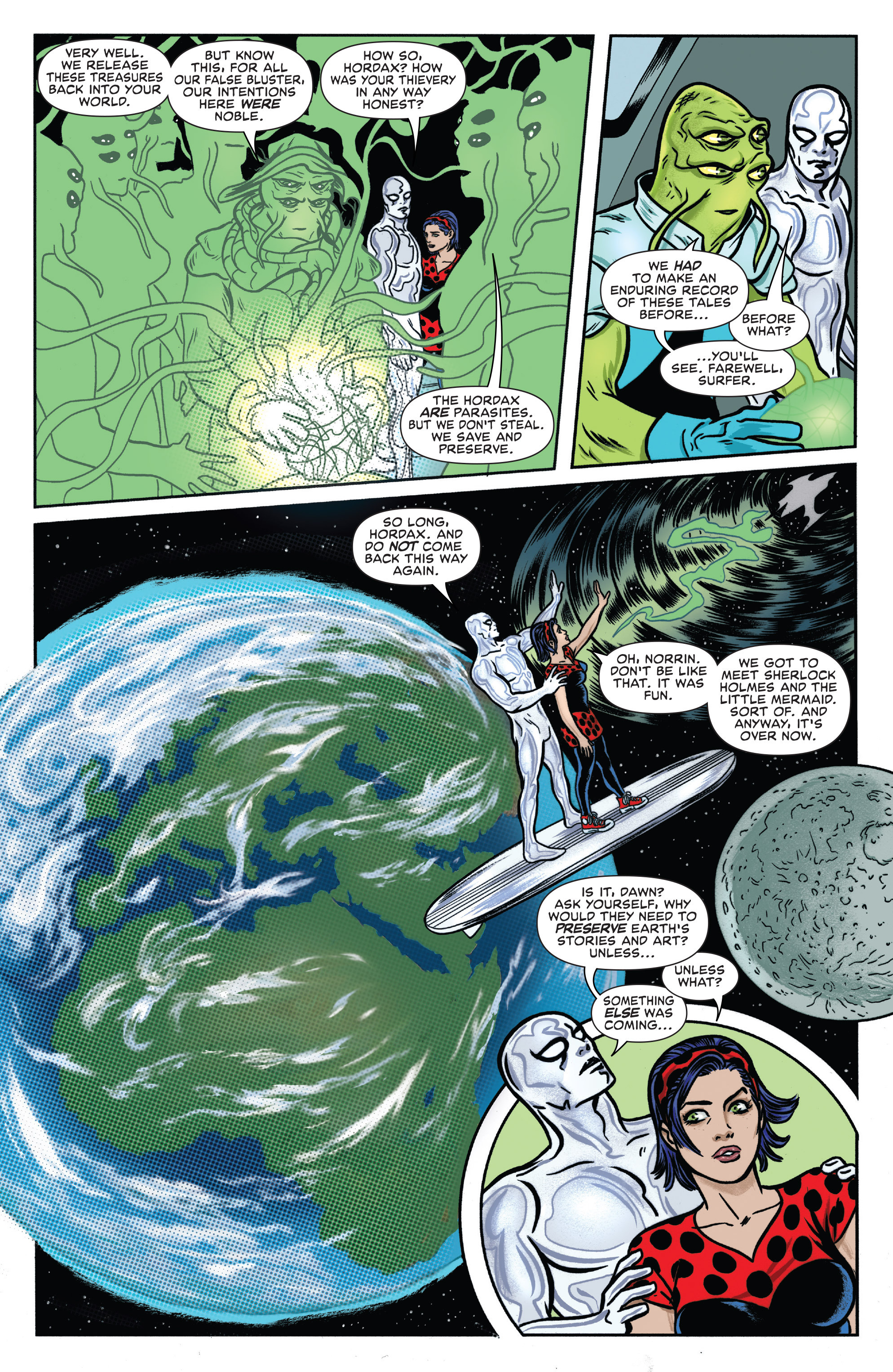 Read online Silver Surfer (2016) comic -  Issue #1 - 18