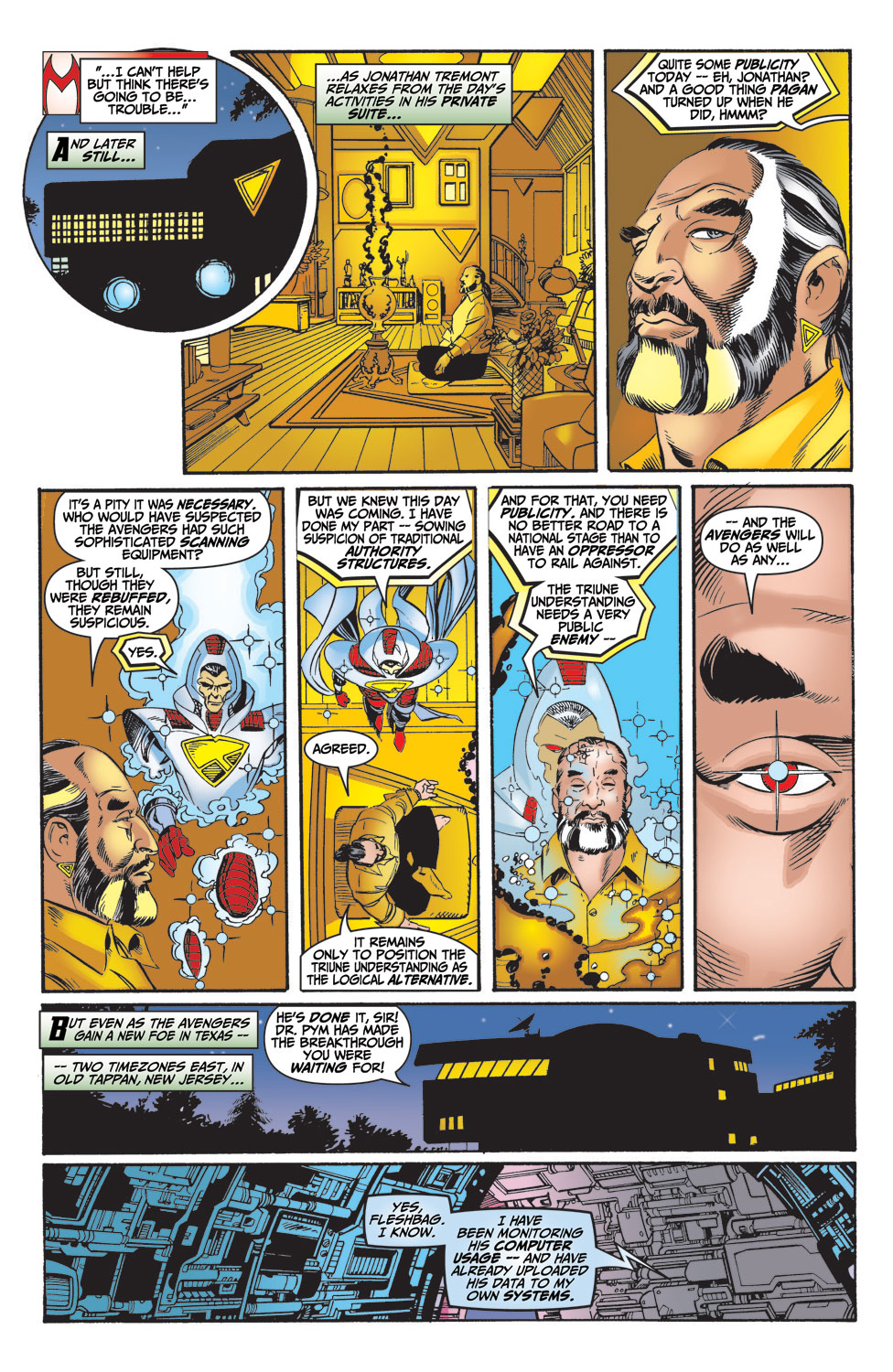 Read online Avengers (1998) comic -  Issue #15 - 21