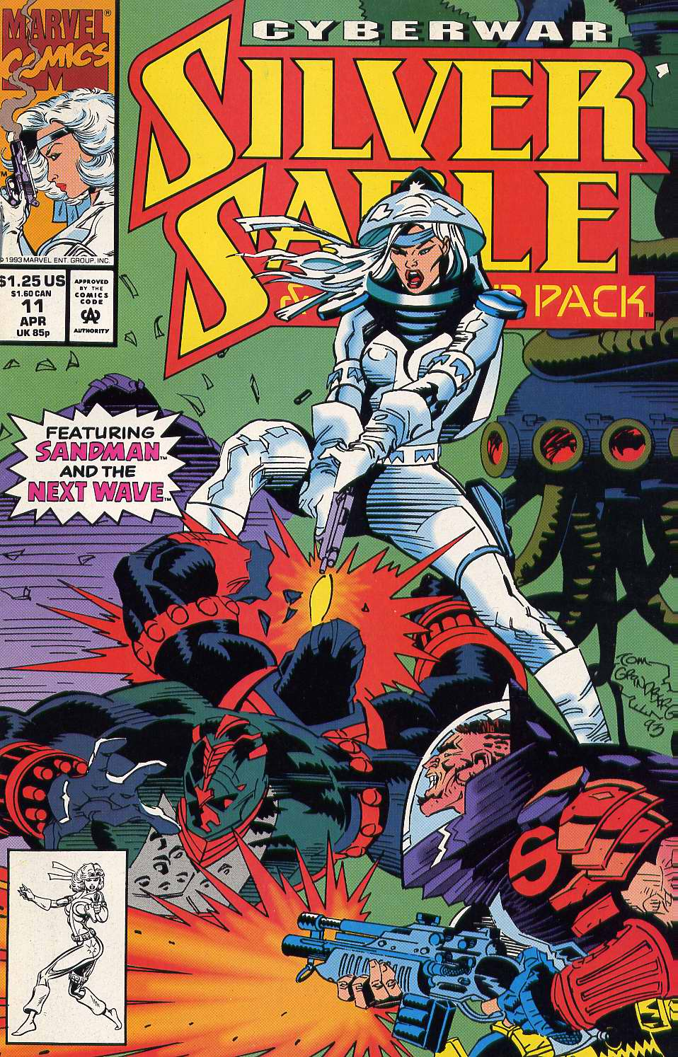 Read online Silver Sable and the Wild Pack comic -  Issue #11 - 1