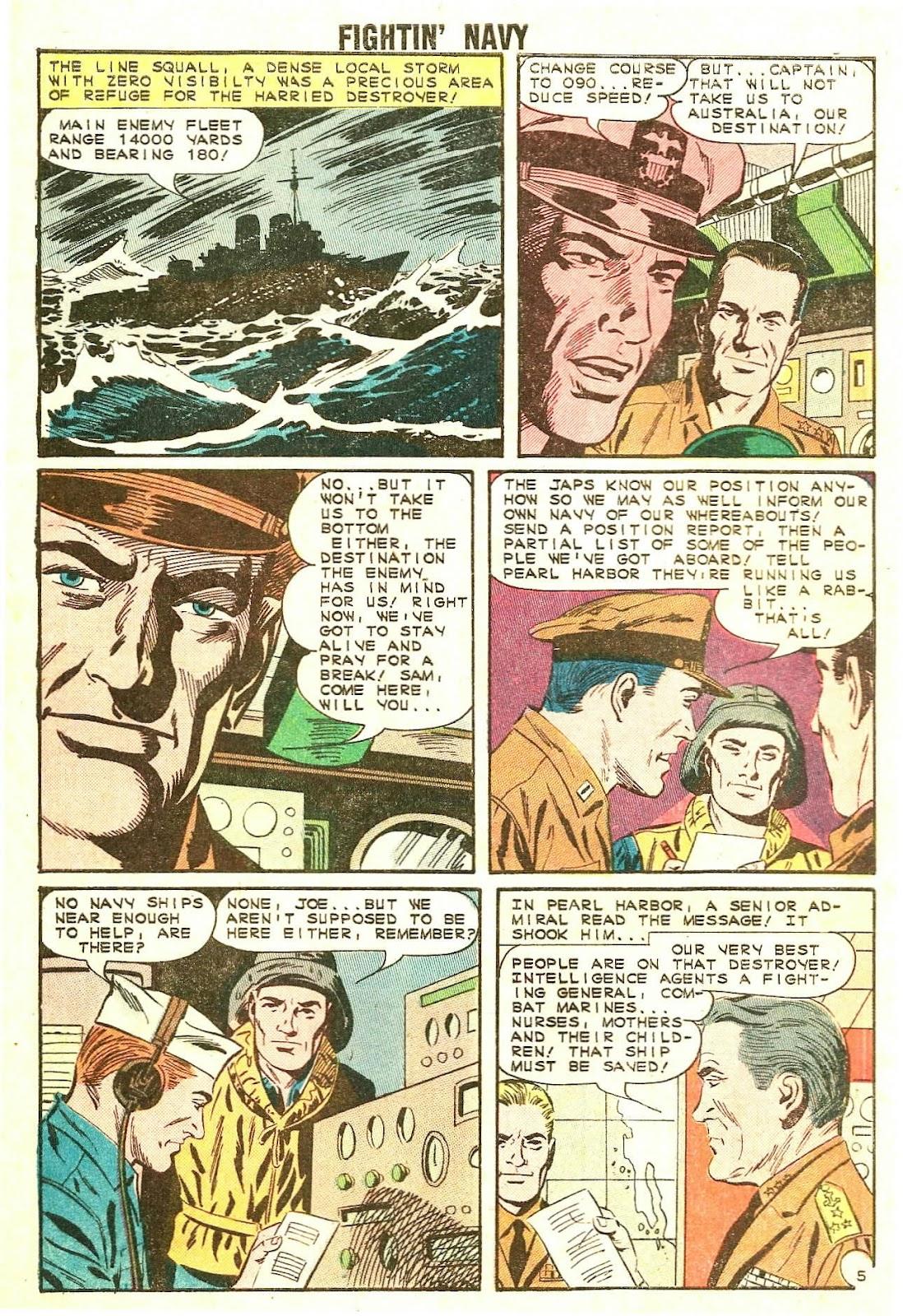 Read online Fightin' Navy comic -  Issue #114 - 8