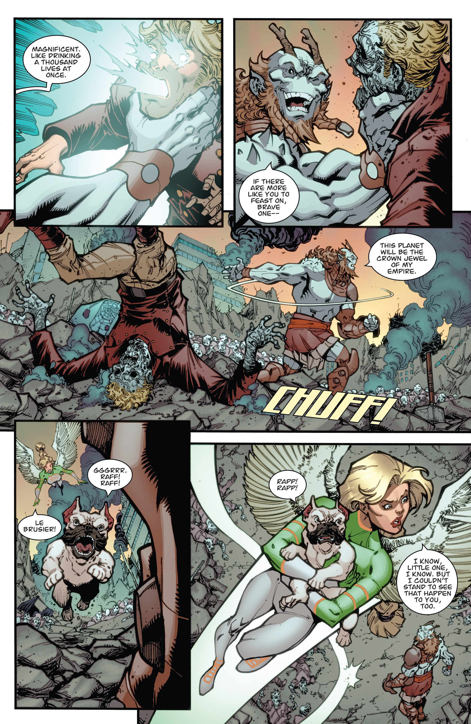 Read online Guarding the Globe (2012) comic -  Issue #6 - 8