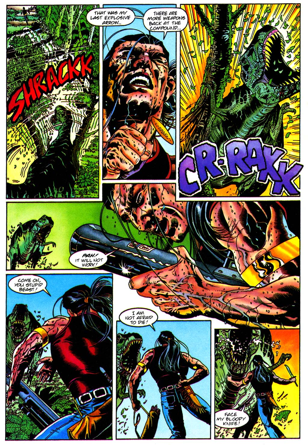 Read online Turok, Dinosaur Hunter (1993) comic -  Issue #28 - 17