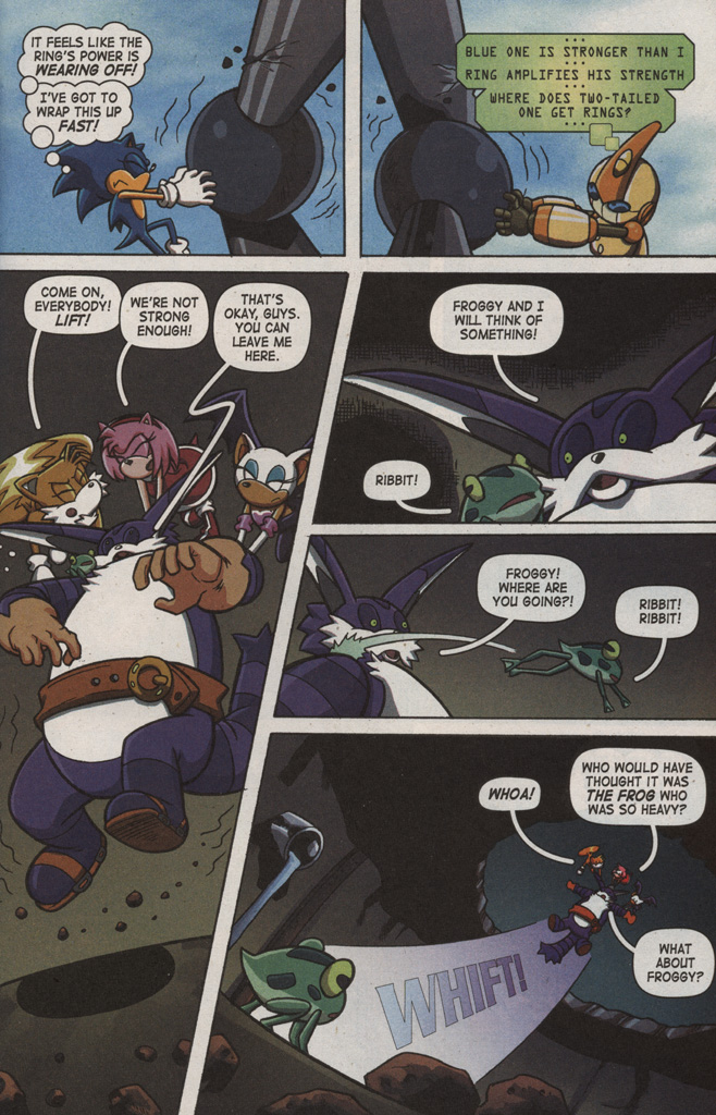 Read online Sonic X comic -  Issue #9 - 19