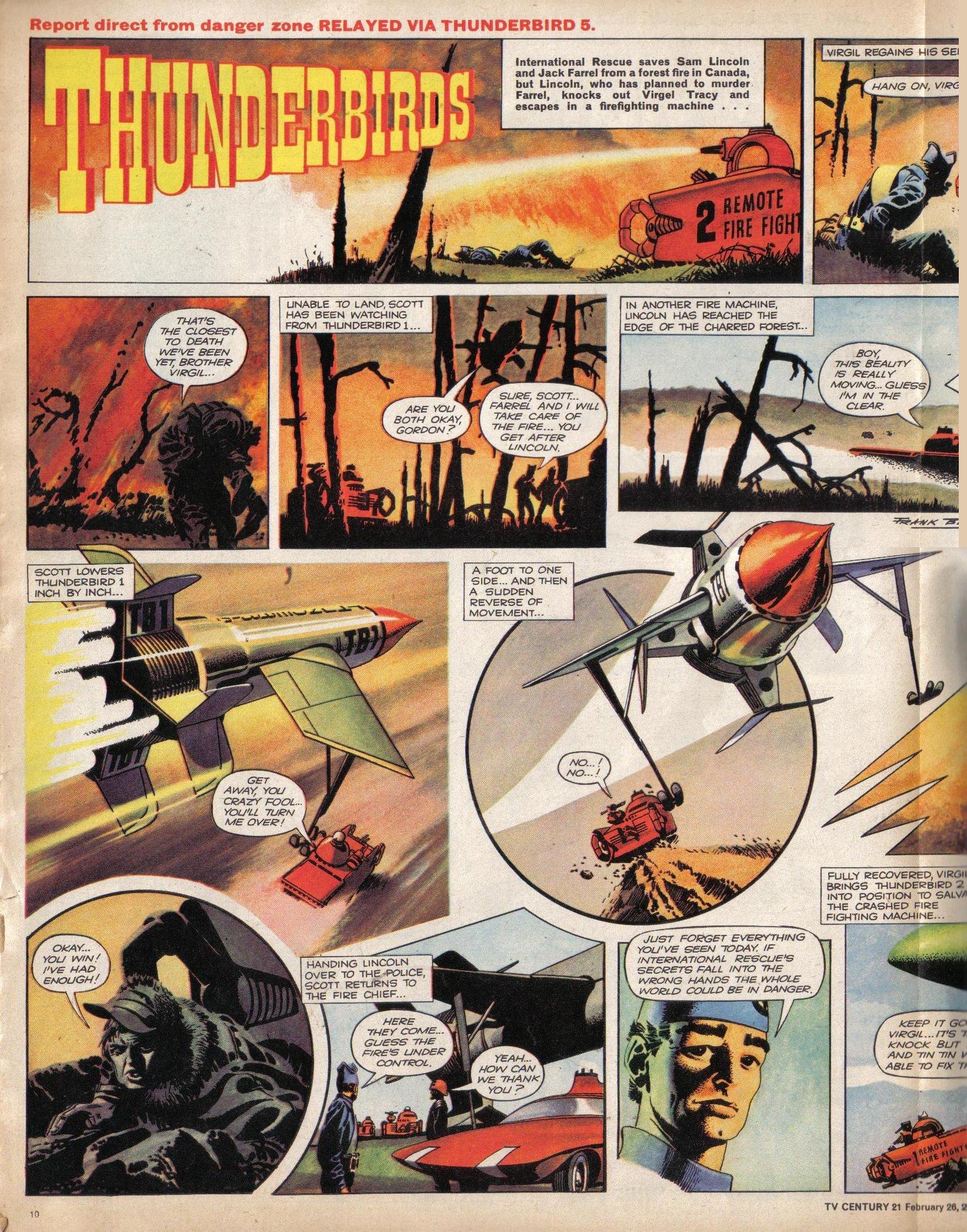 Read online TV Century 21 (TV 21) comic -  Issue #58 - 11