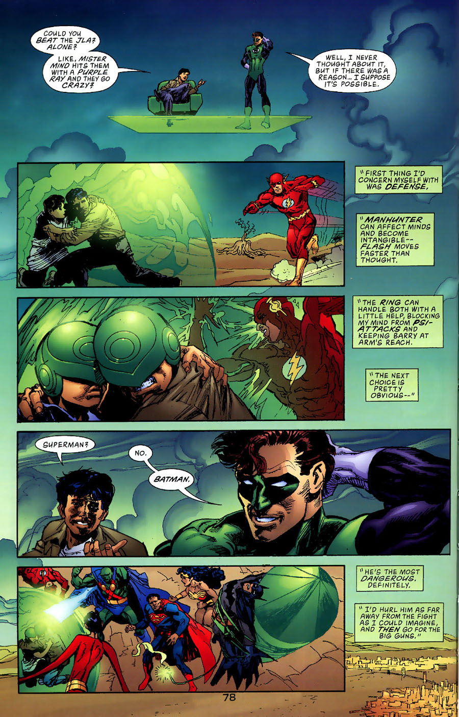 Read online Green Lantern: Legacy: The Last Will and Testament of Hal Jordan comic -  Issue # TPB - 84