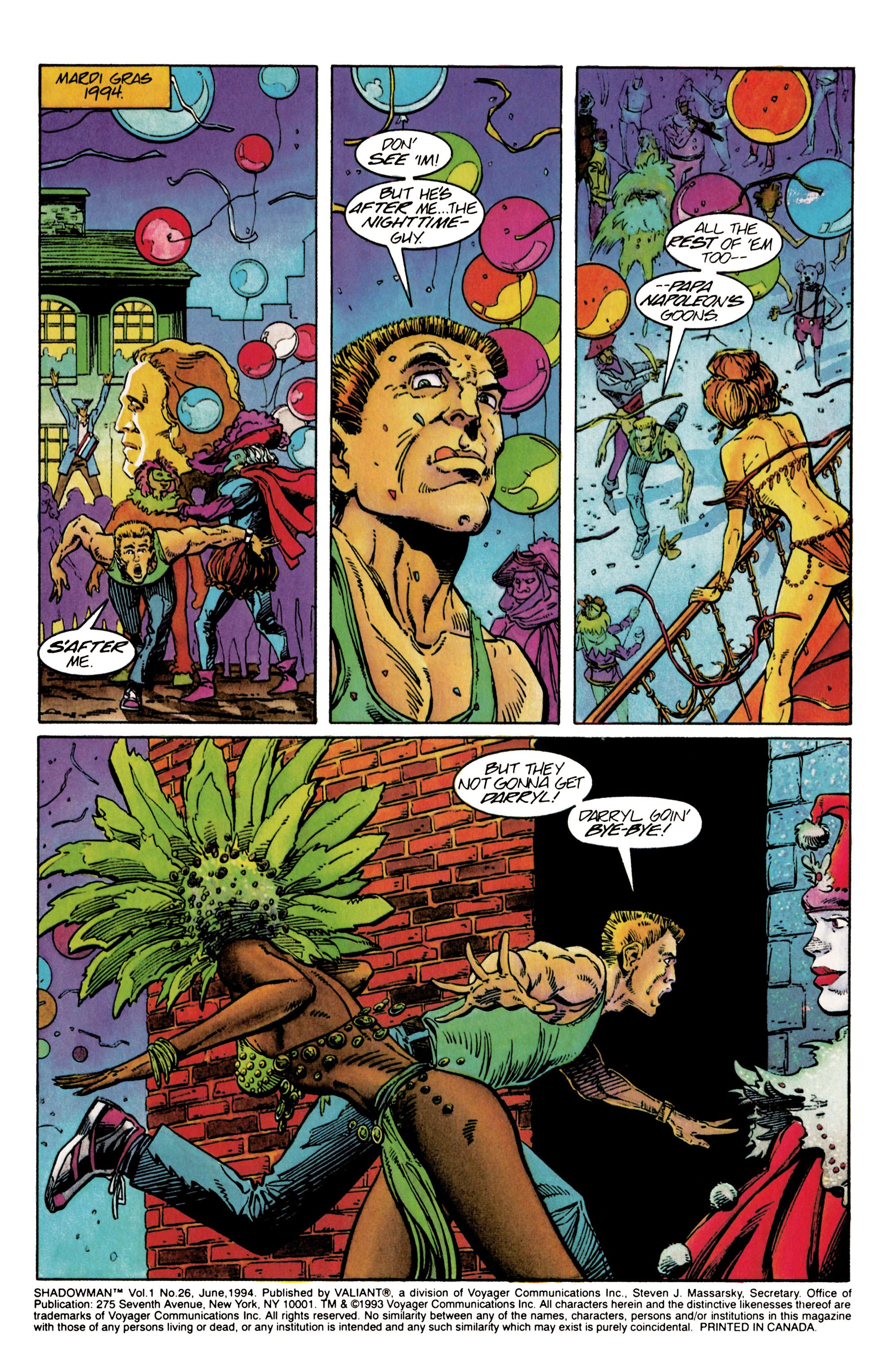 Read online Shadowman (1992) comic -  Issue #26 - 2