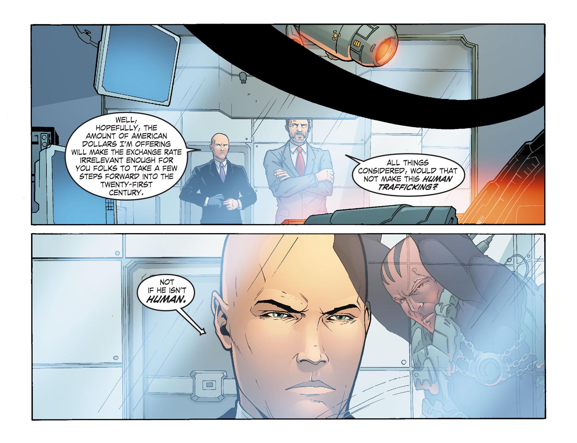 Read online Smallville: Alien comic -  Issue #5 - 8
