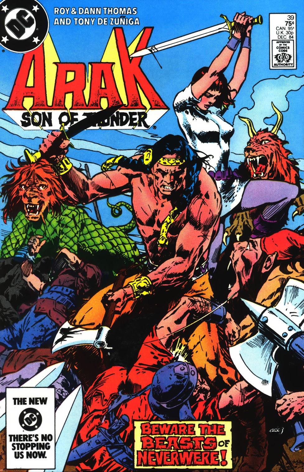 Arak Son of Thunder 39 Page 1