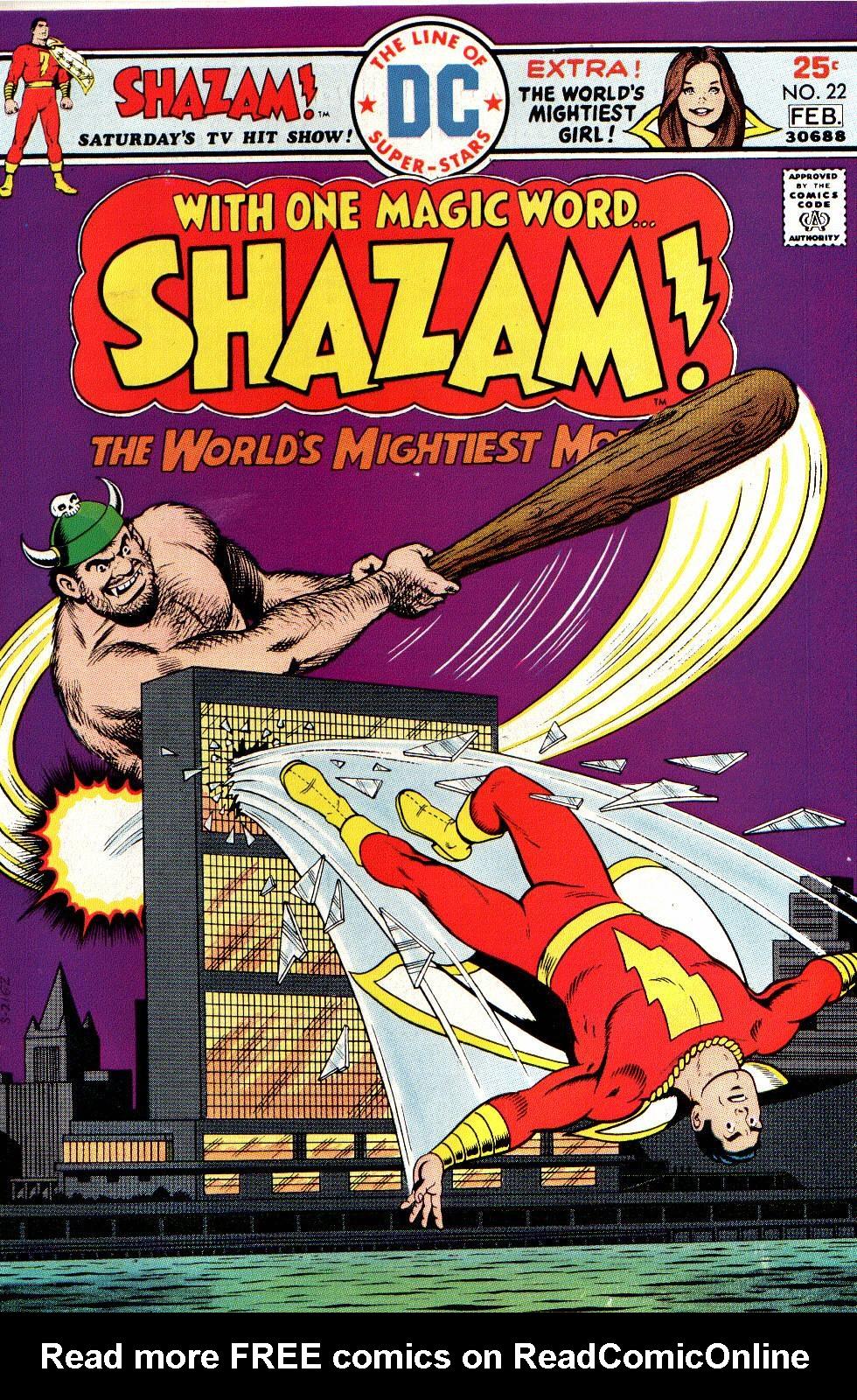 Shazam! (1973) issue 22 - Page 1