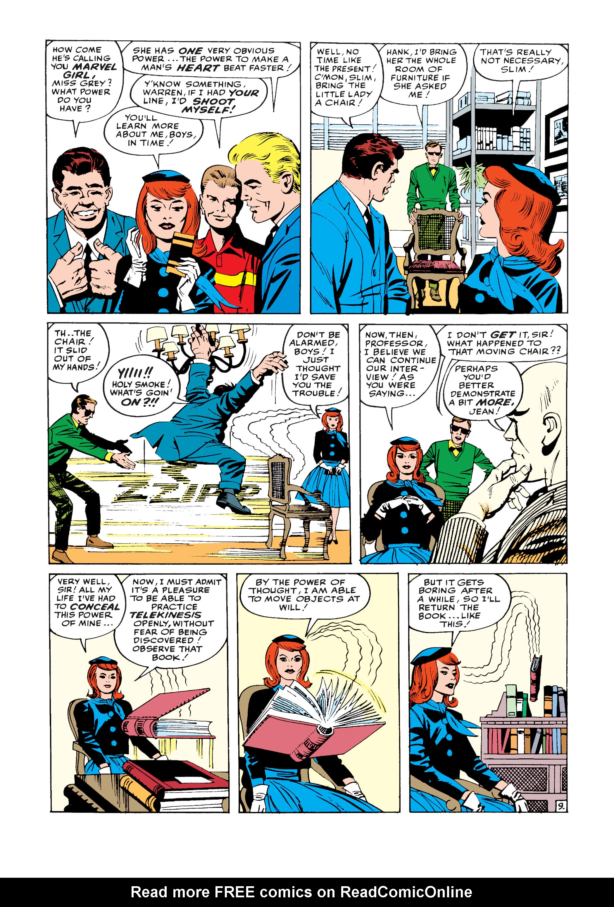 Uncanny X-Men (1963) -1 Page 9