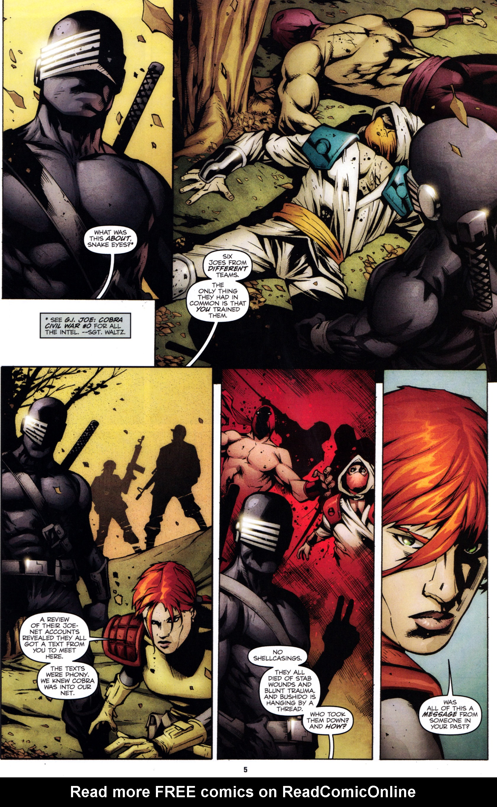 Read online G.I. Joe: Snake Eyes comic -  Issue #1 - 8