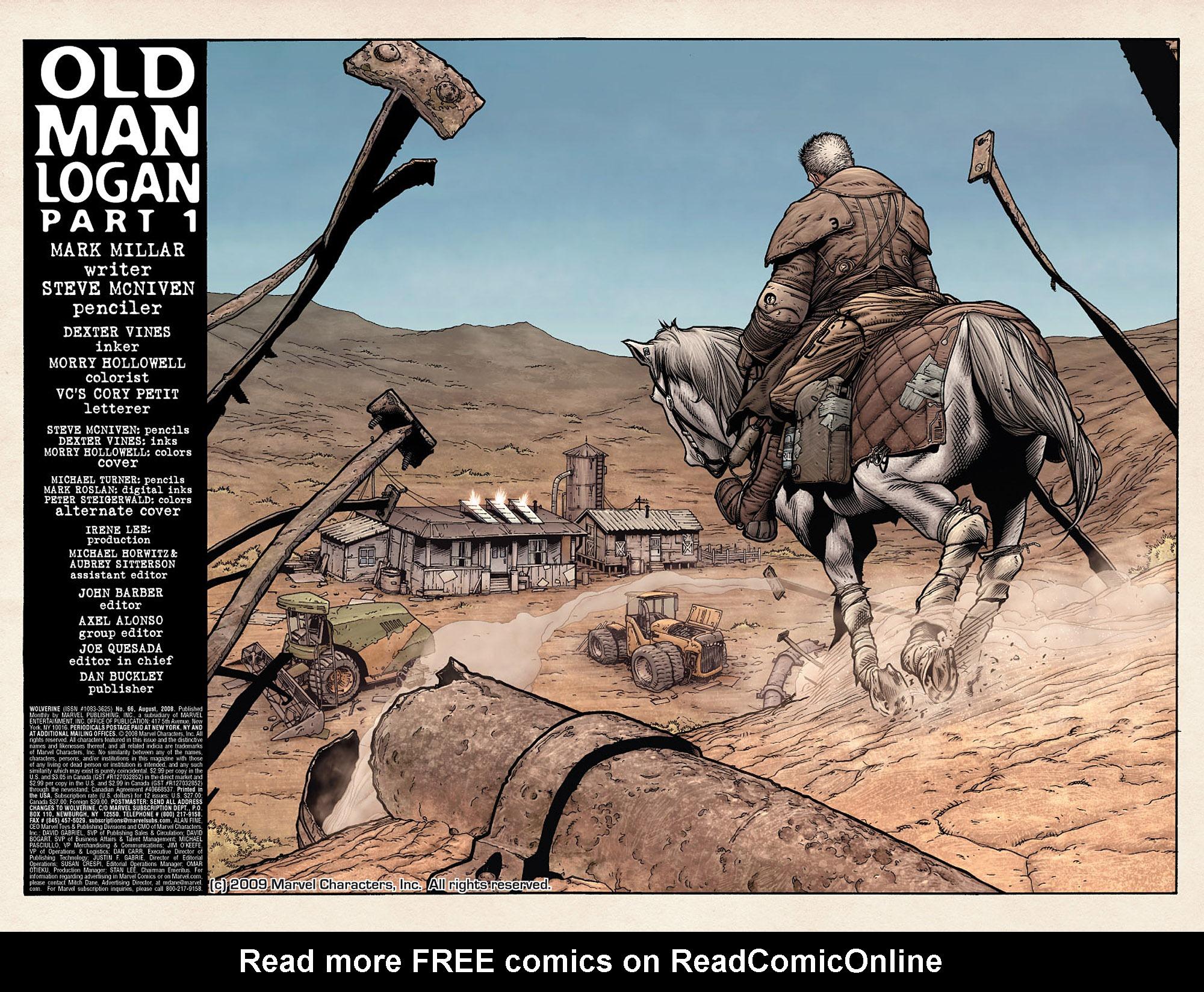 Read online Wolverine: Old Man Logan comic -  Issue # Full - 5