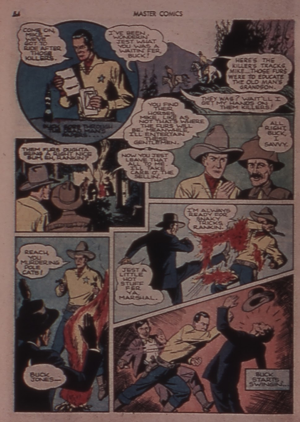 Master Comics issue 30 - Page 54