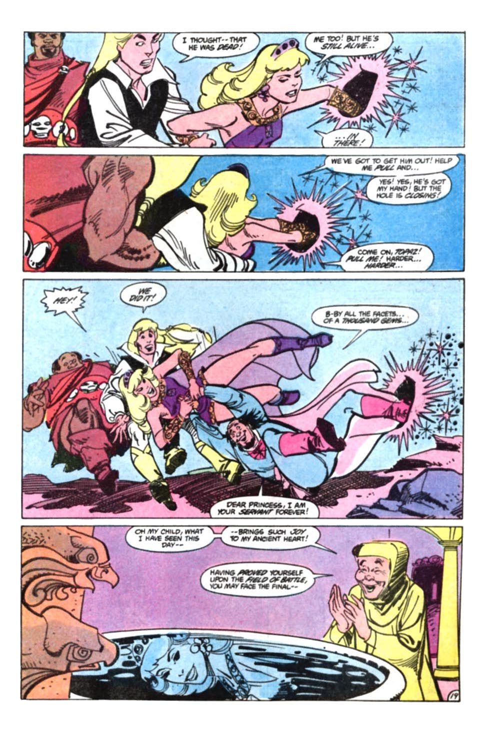 Read online Amethyst, Princess of Gemworld comic -  Issue #9 - 20
