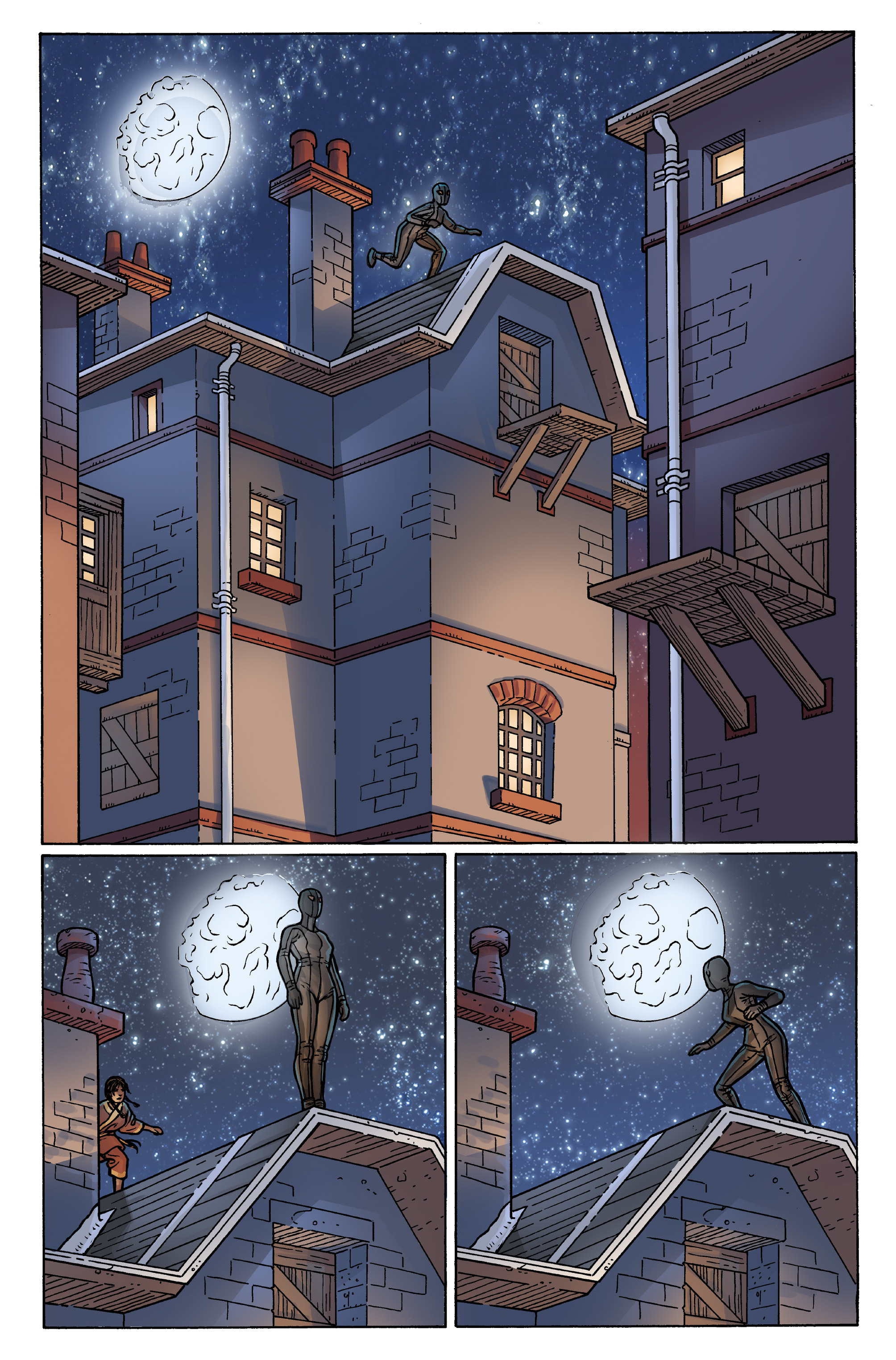 Read online Anno Dracula comic -  Issue #3 - 22